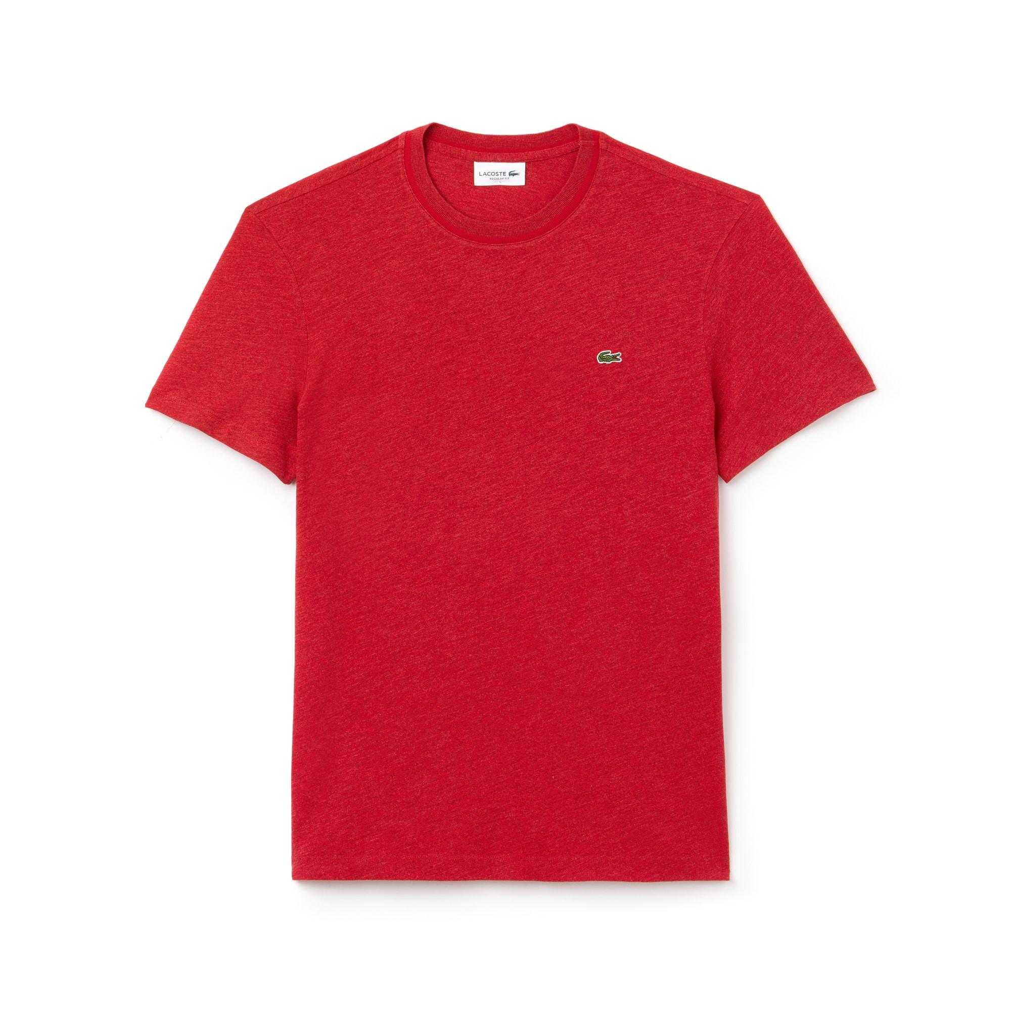 T-shirt heren ronde hals flammé-katoenjersey