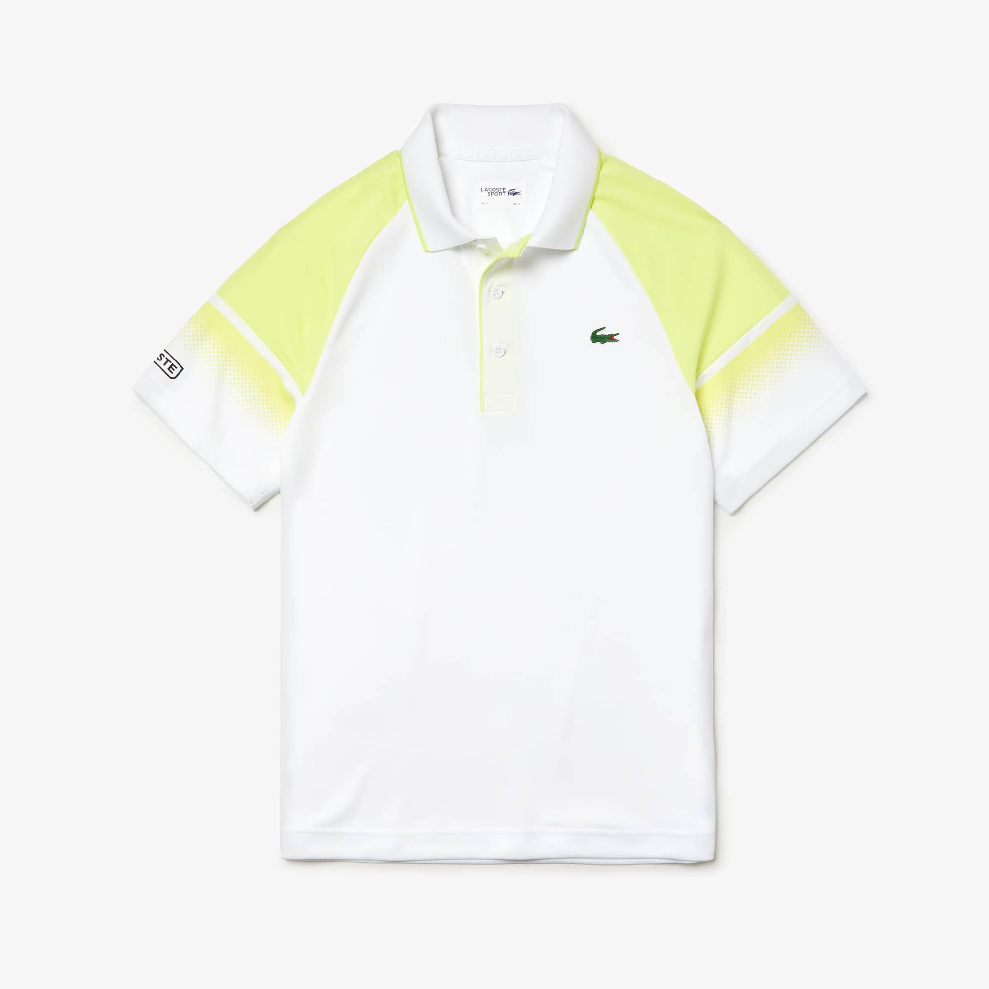 5b711cc274d Lacoste SPORT Tennis-poloshirt heren technisch piqué met vervaagd colorblock