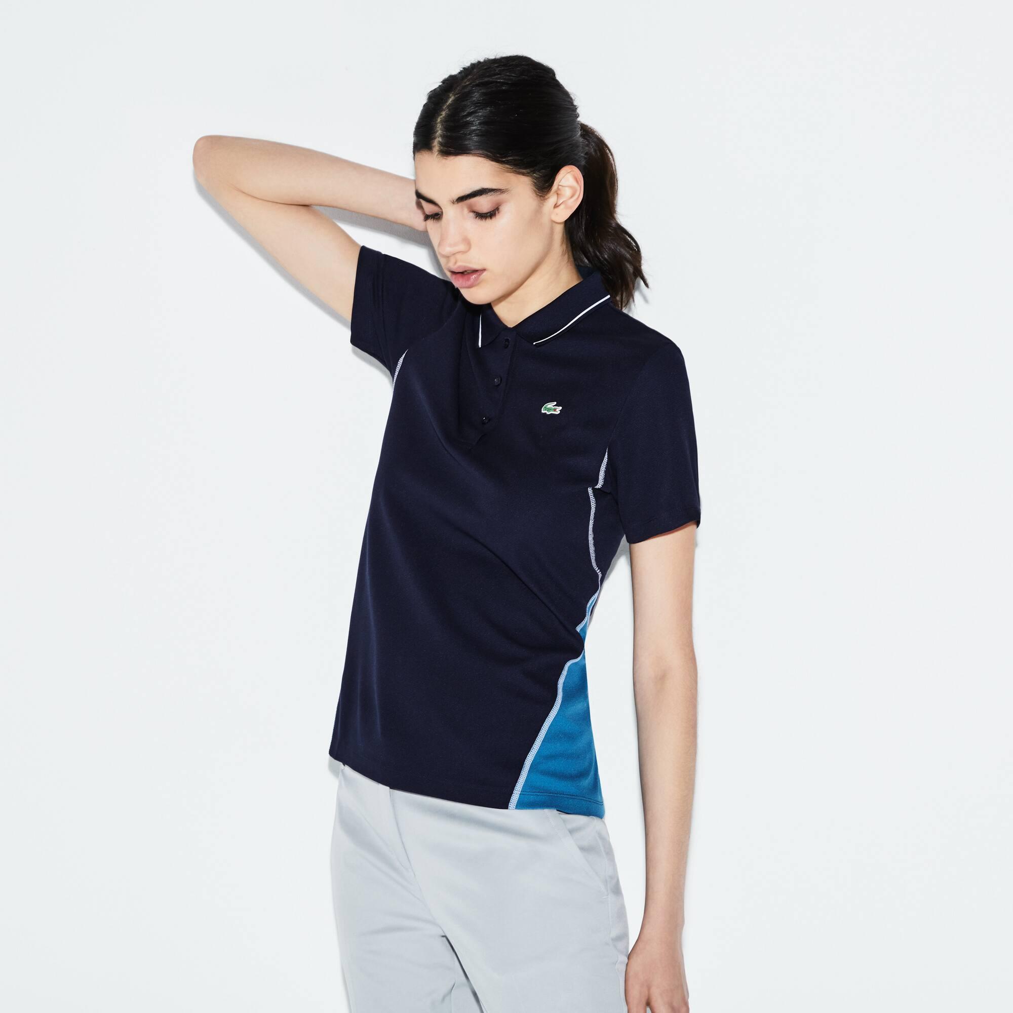 Lacoste SPORT Golf-polo dames technisch katoenbreiwerk