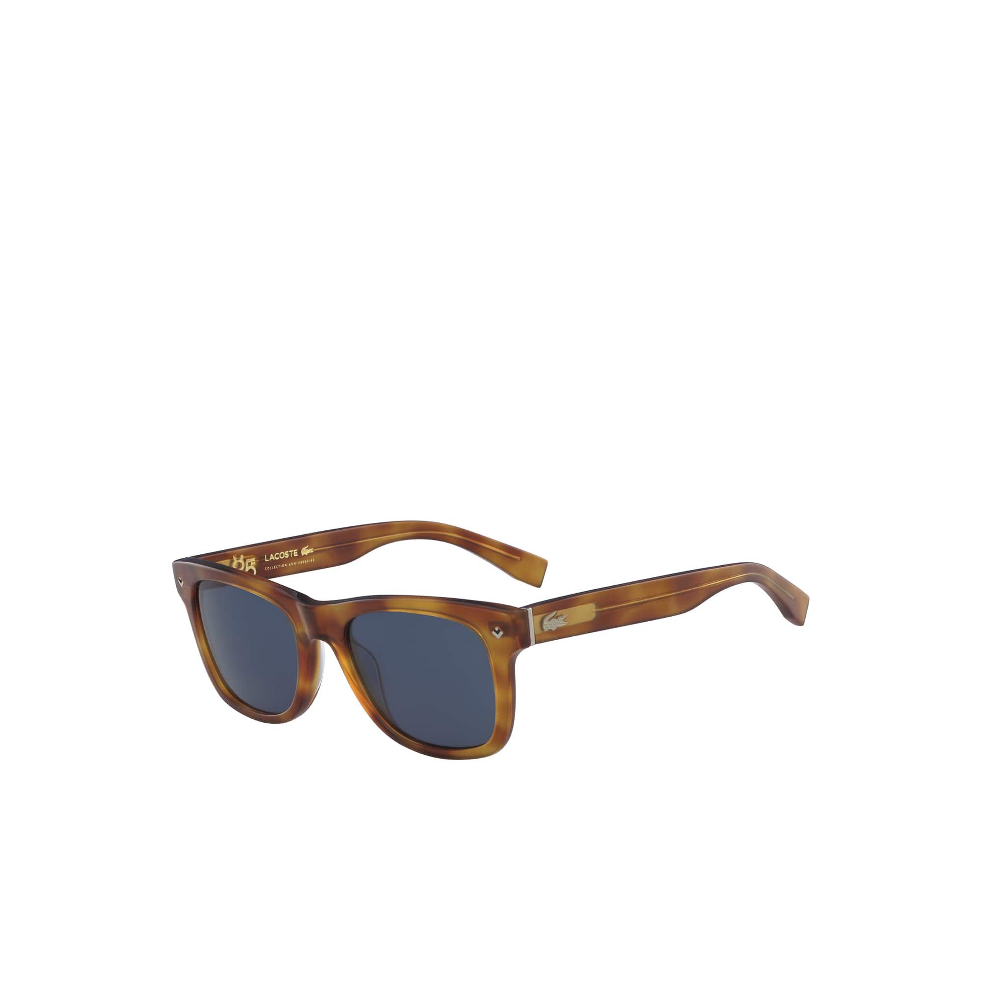 Petit piqué-zonnebril 85 verjardaag unisex met acetaatmontuur