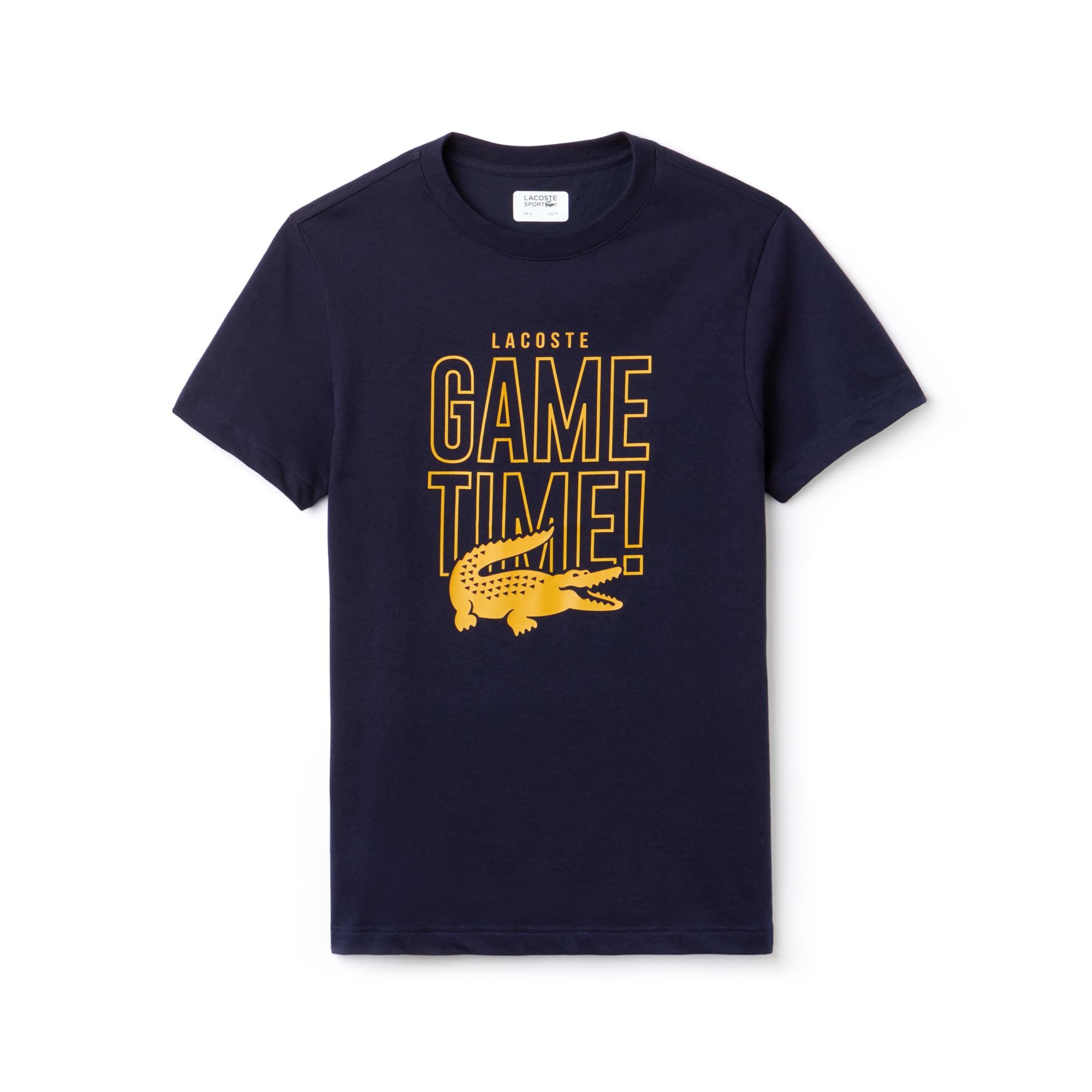 Lacoste SPORT Game Time Tennis-T-shirt heren jersey ronde hals