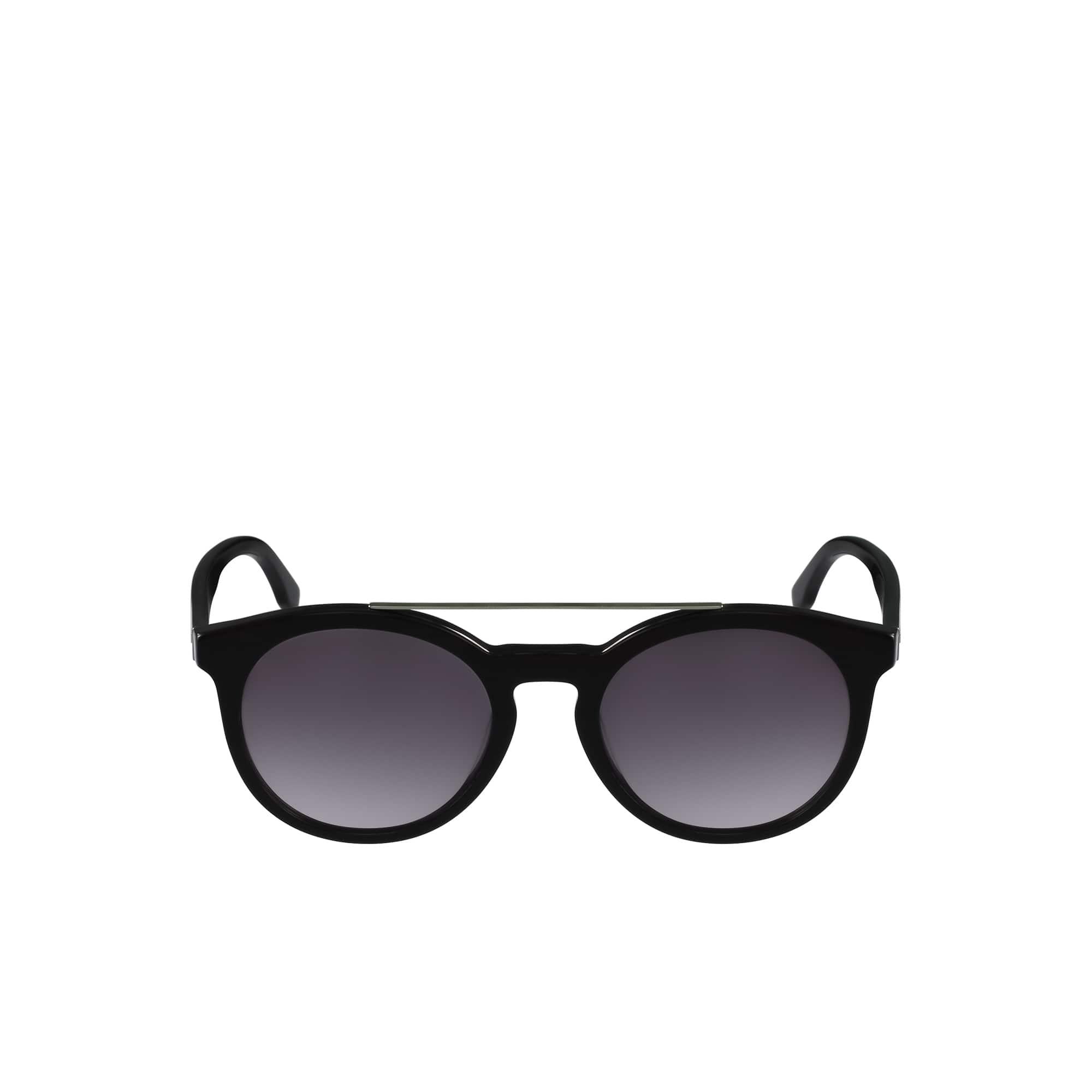 Plastic Color Block Sunglasses