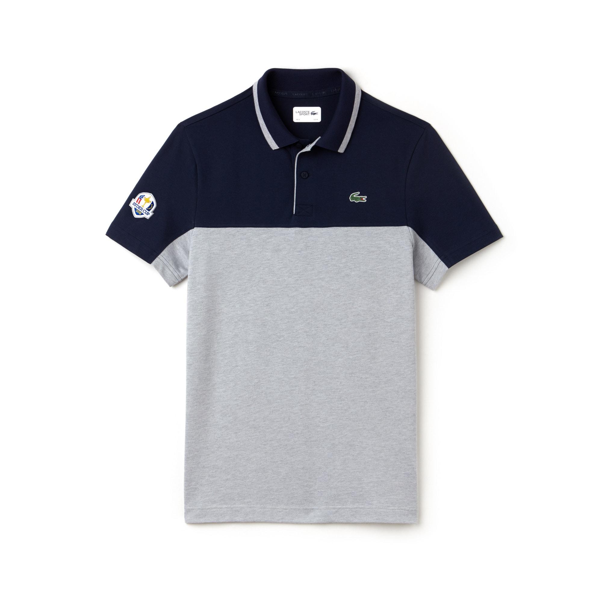 Golf Lacoste SPORT Édition Ryder Cup polo, technisch petit piqué