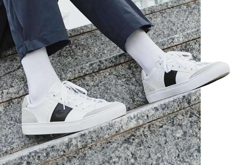 Os últimos modelos de sapatos