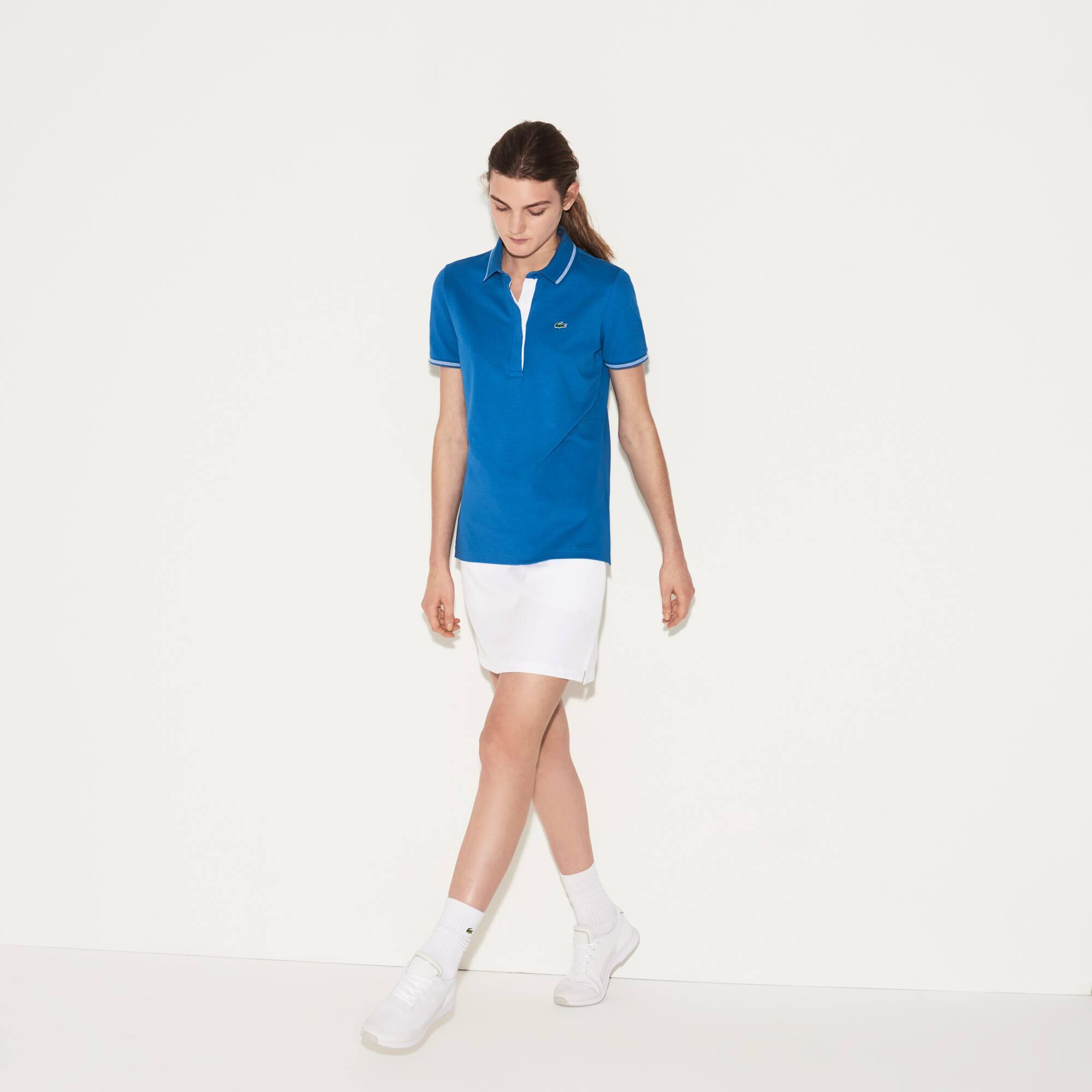 Polo técnico Golf Lacoste SPORT em algodão leve stretch unicolor