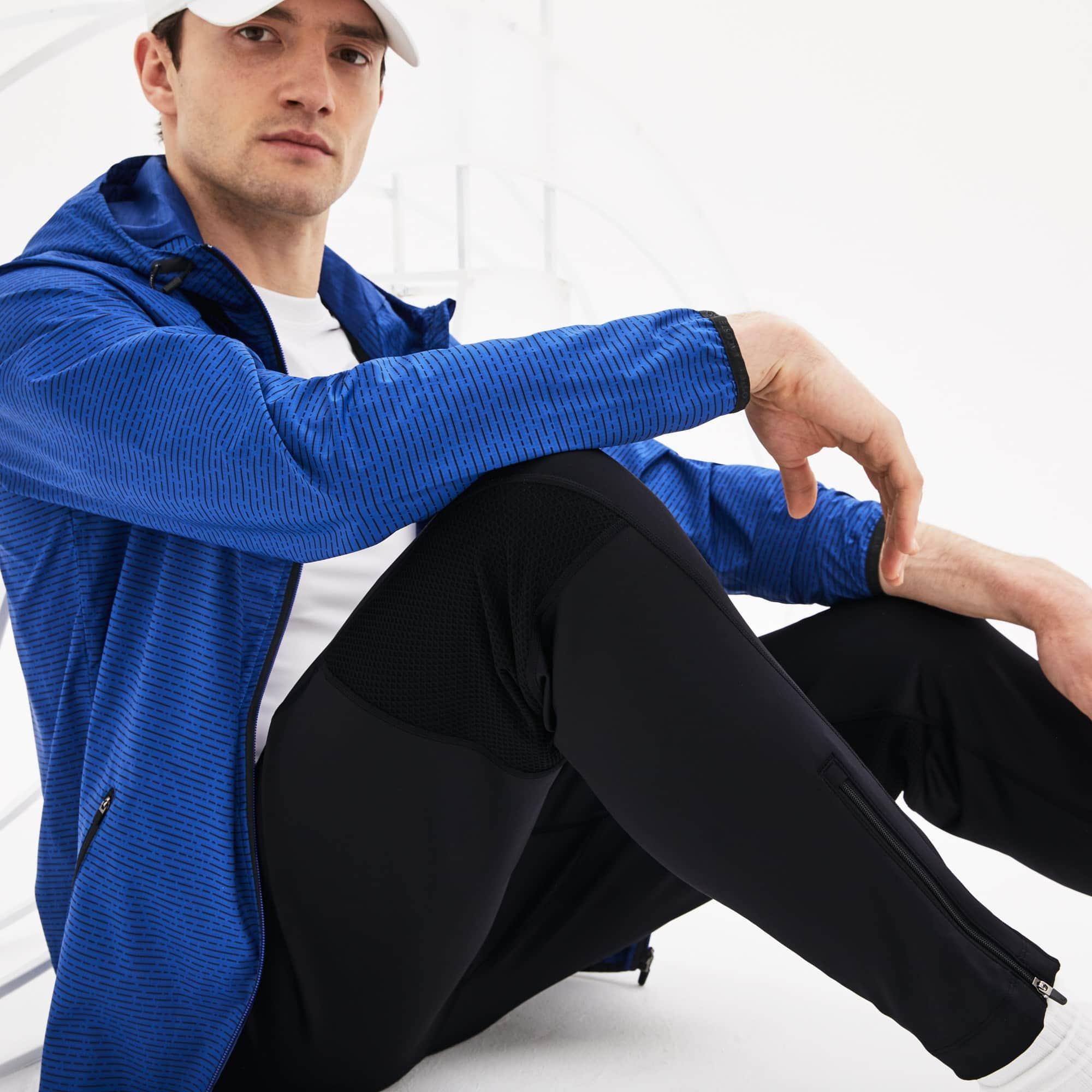 Calças de fato de treino Tennis Lacoste SPORT em jersey técnico