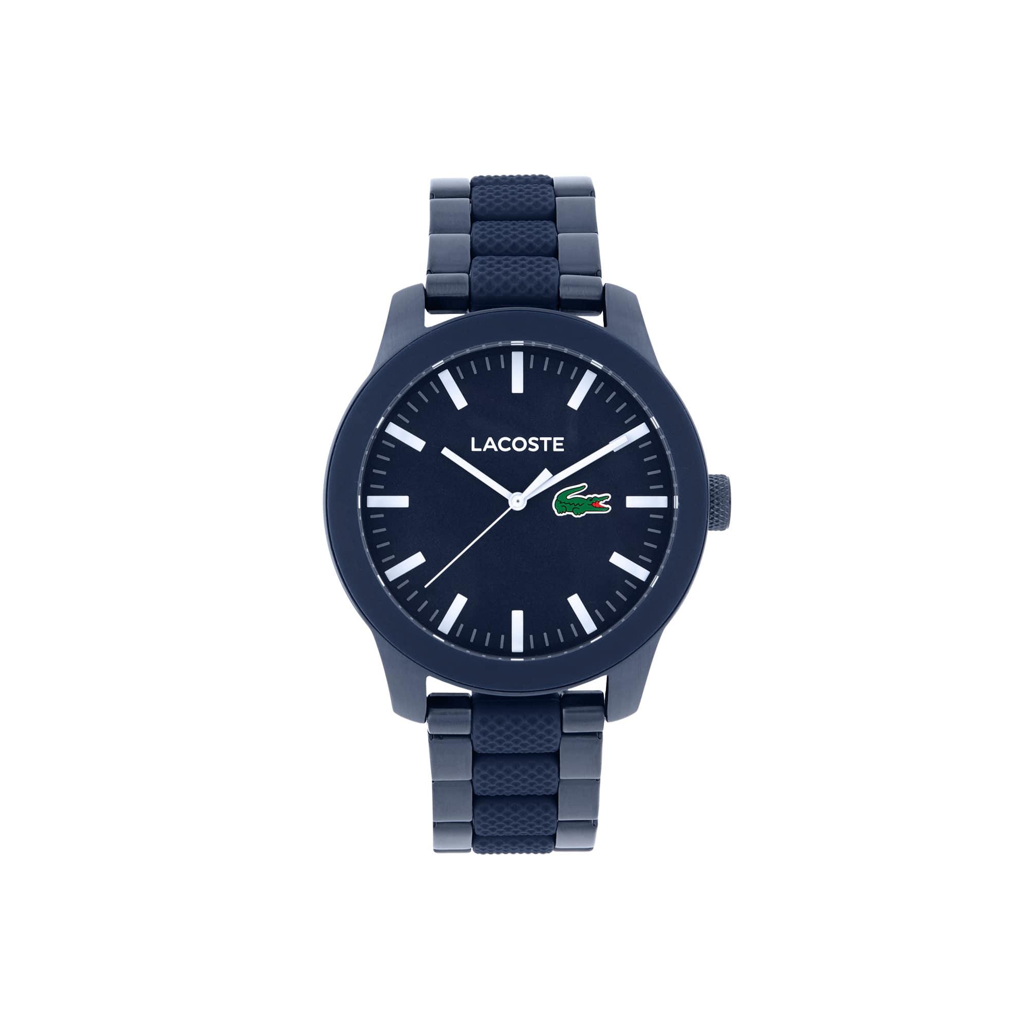 Relógio Lacoste 12.12 Homem com Bracelete em Aço Azul