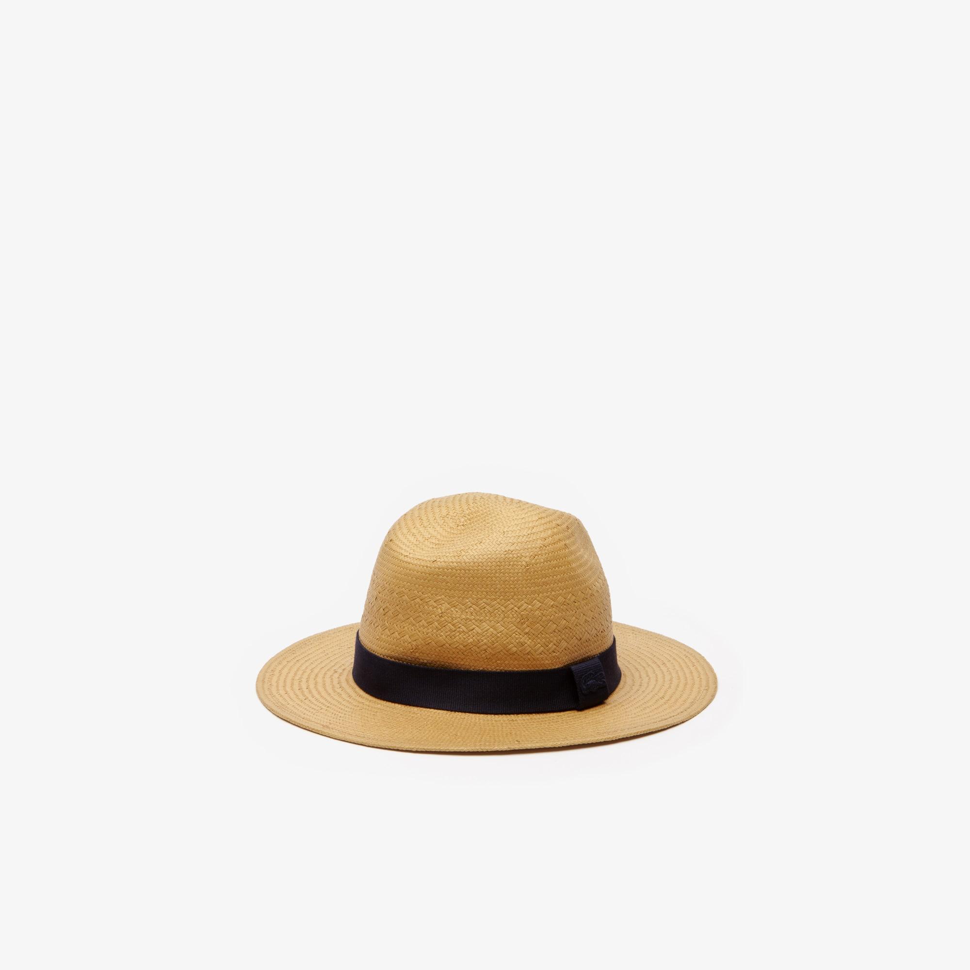 a24da92b87757 Chapéu de palhinha com risca em contraste