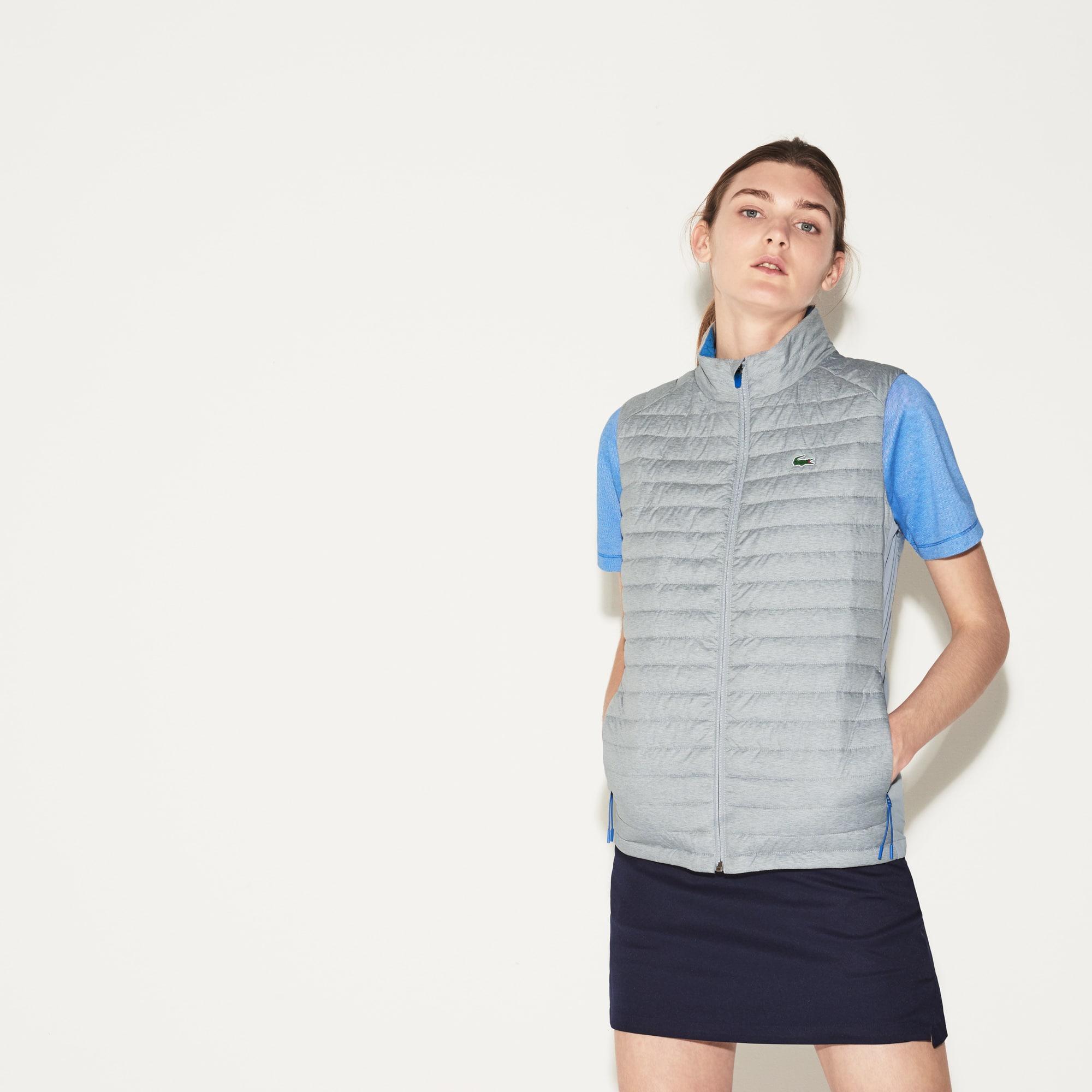 Blusão sem mangas Golf Lacoste SPORT em tafetá técnico