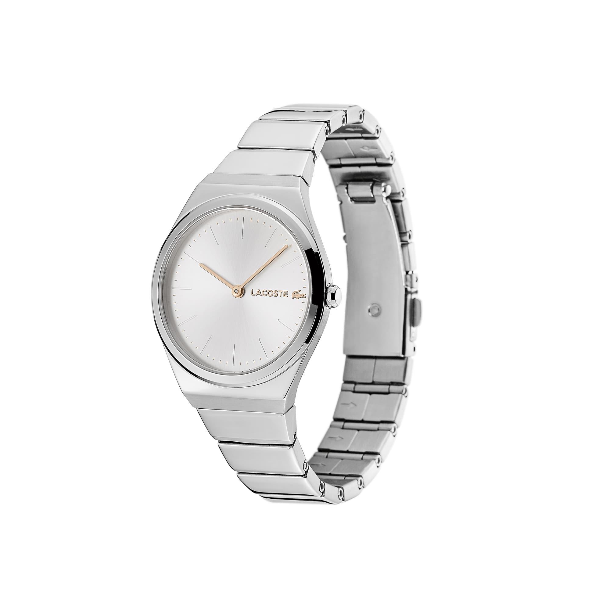 Relógio Mia de mulher com bracelete em aço inoxidável