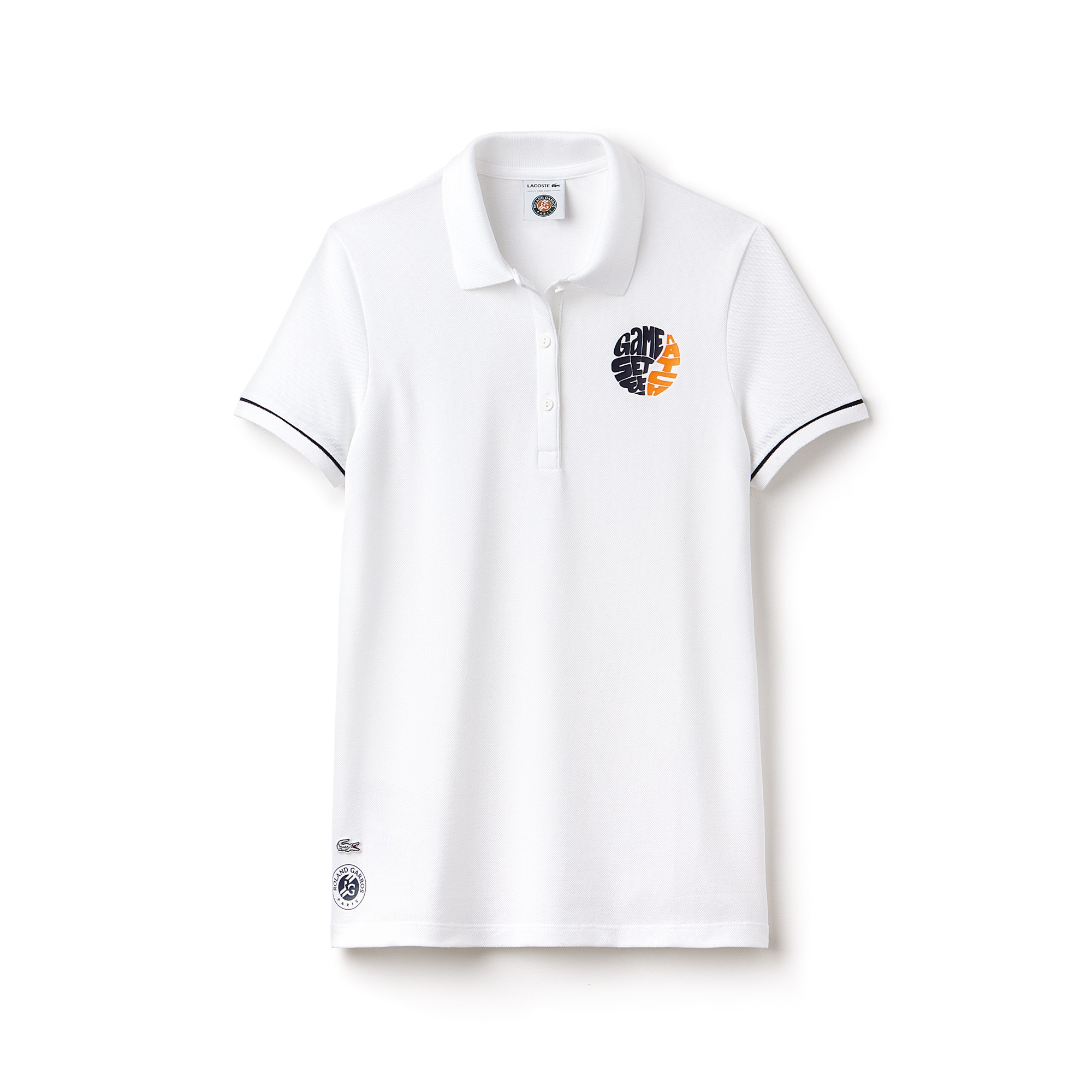 Polo Lacoste SPORT em mini piqué stretch Edição Roland Garros