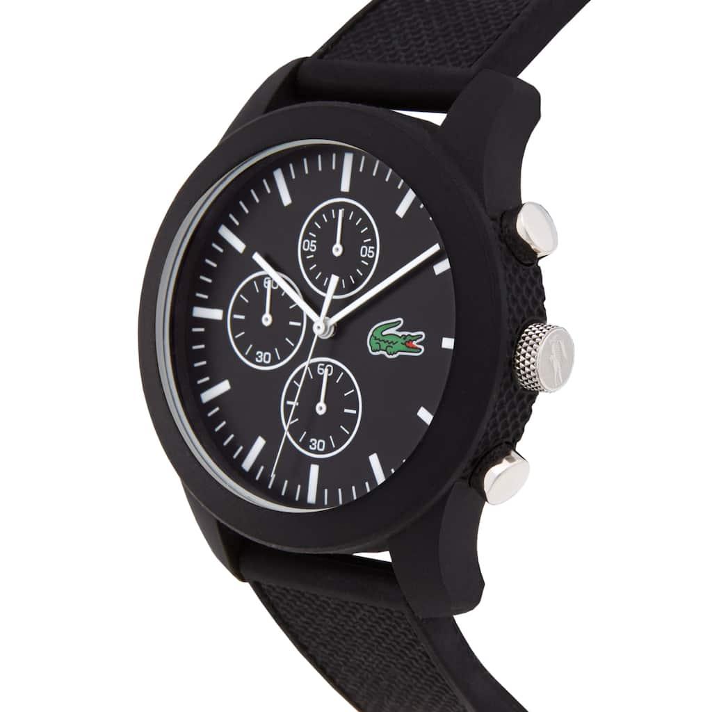 1aea4f3e852 Relógio Lacoste 12.12 Homem com Bracelete em Silicone Preto