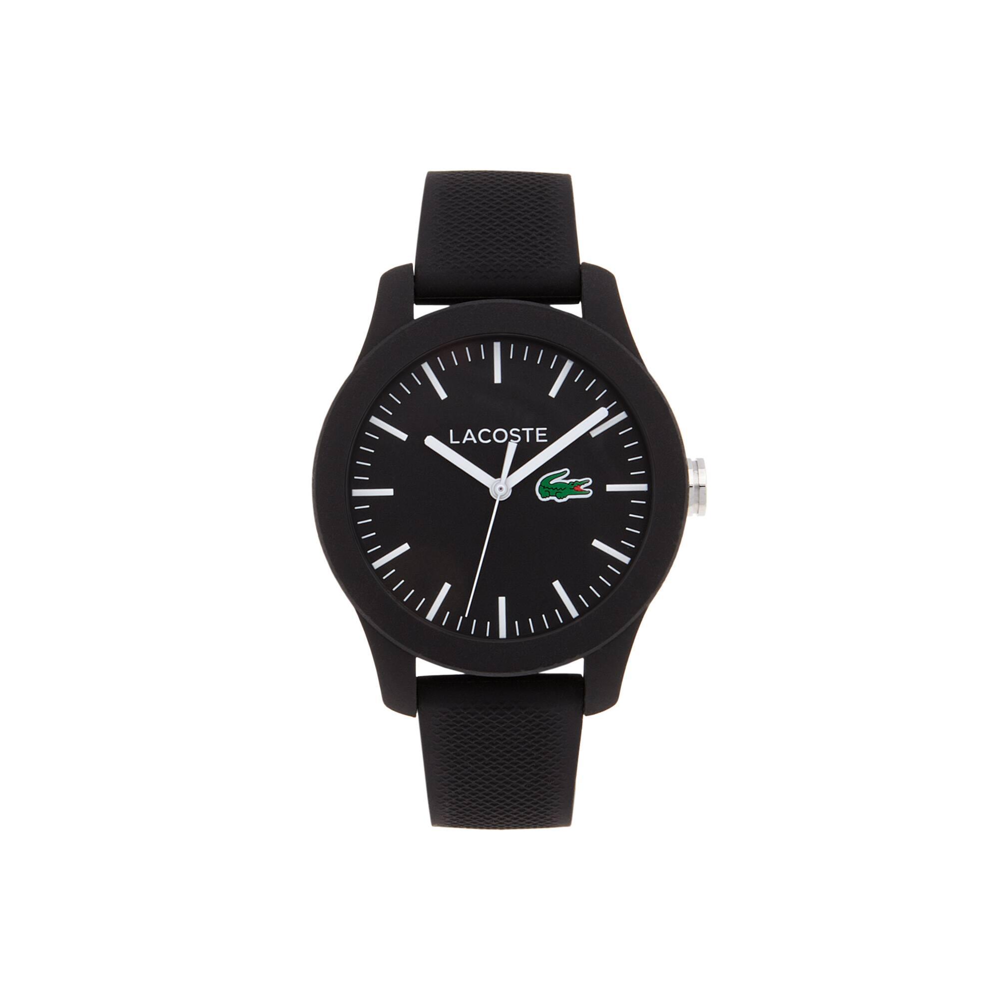 Relógio Lacoste 12.12 Senhora com Bracelete em Silicone Preto