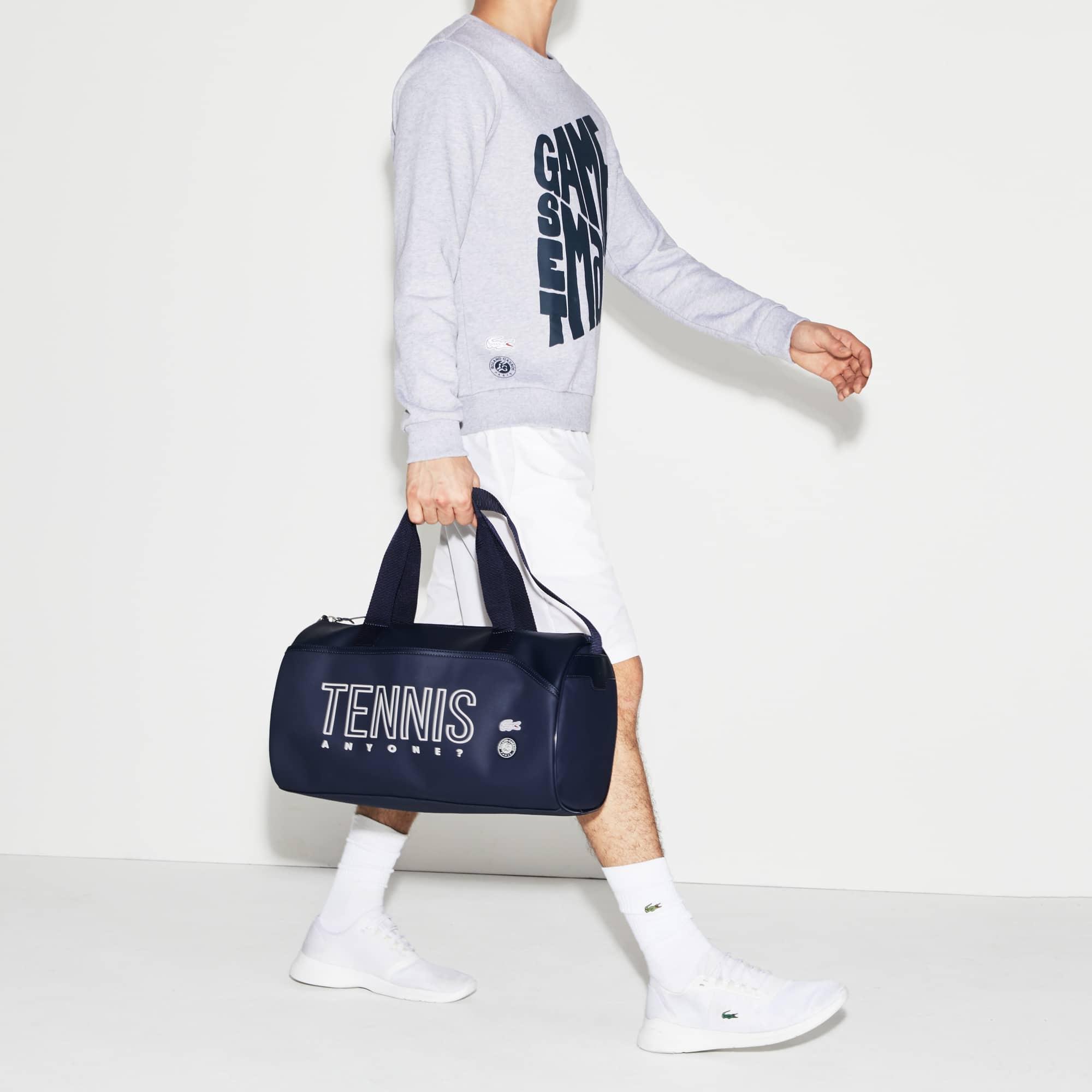 Saco cilíndrico Lacoste SPORT Roland Garros com marcação