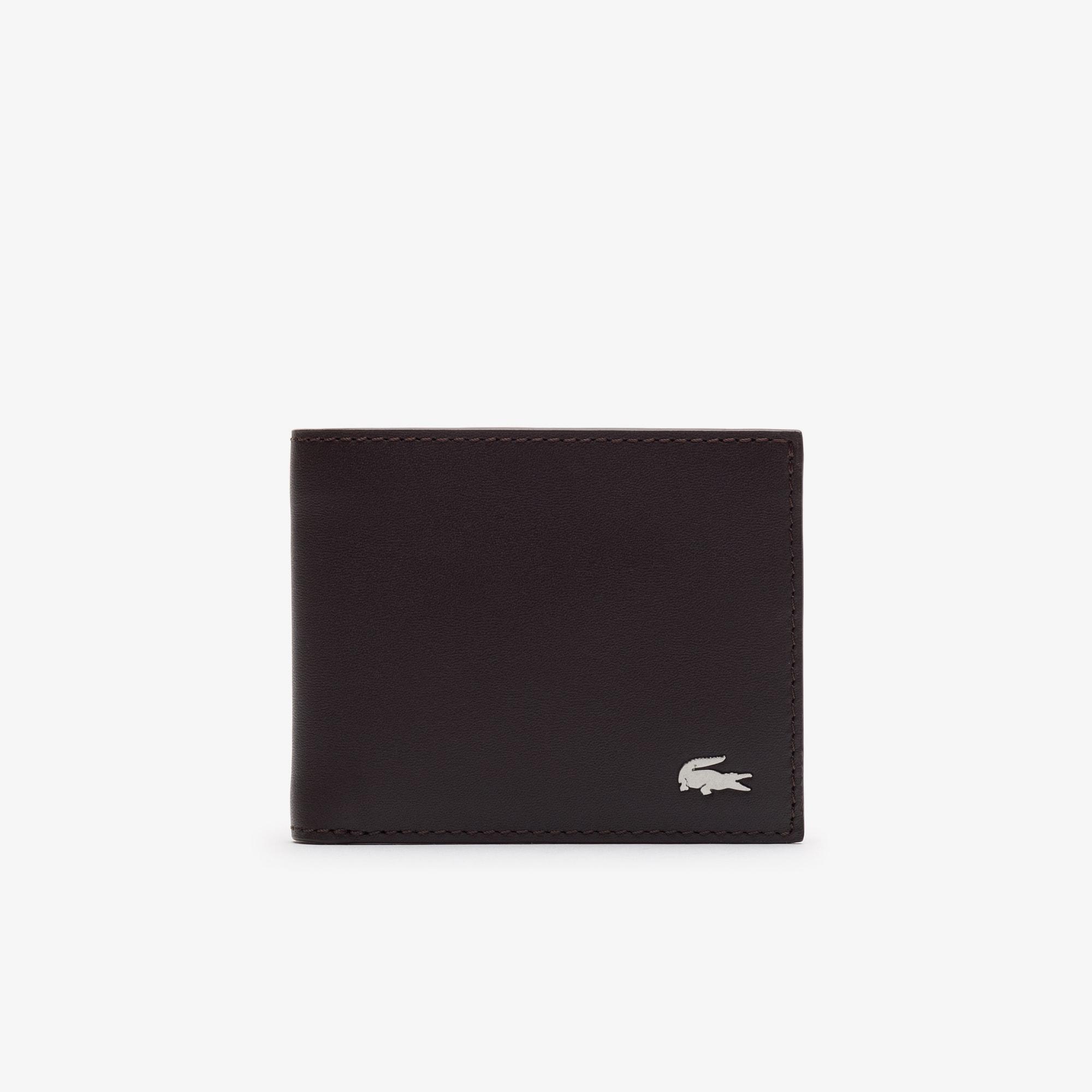 Carteira FG em pele com compartimento para o Cartão de Identificação