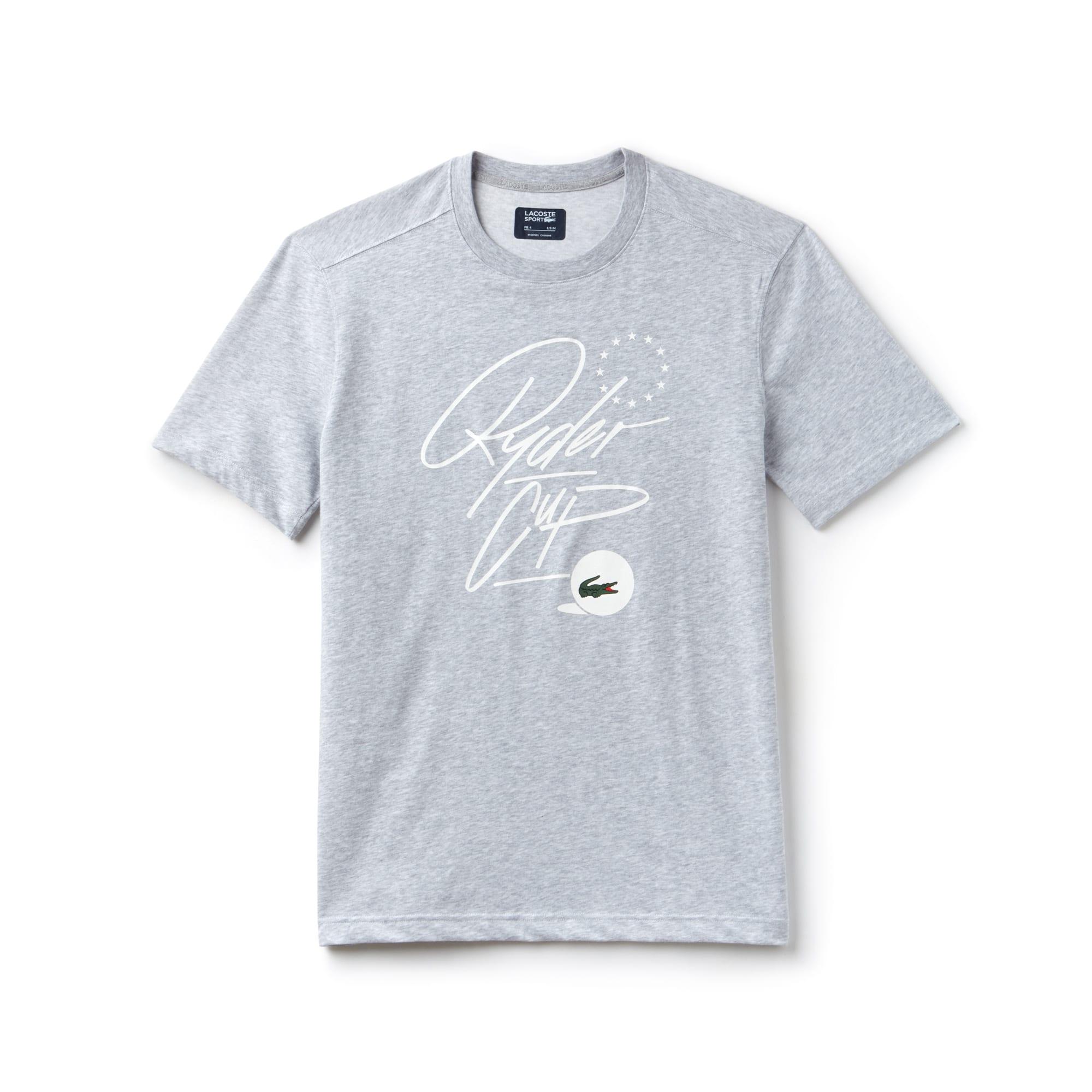 T-shirt Golf Lacoste SPORT em jersey técnico Edição Ryder Cup
