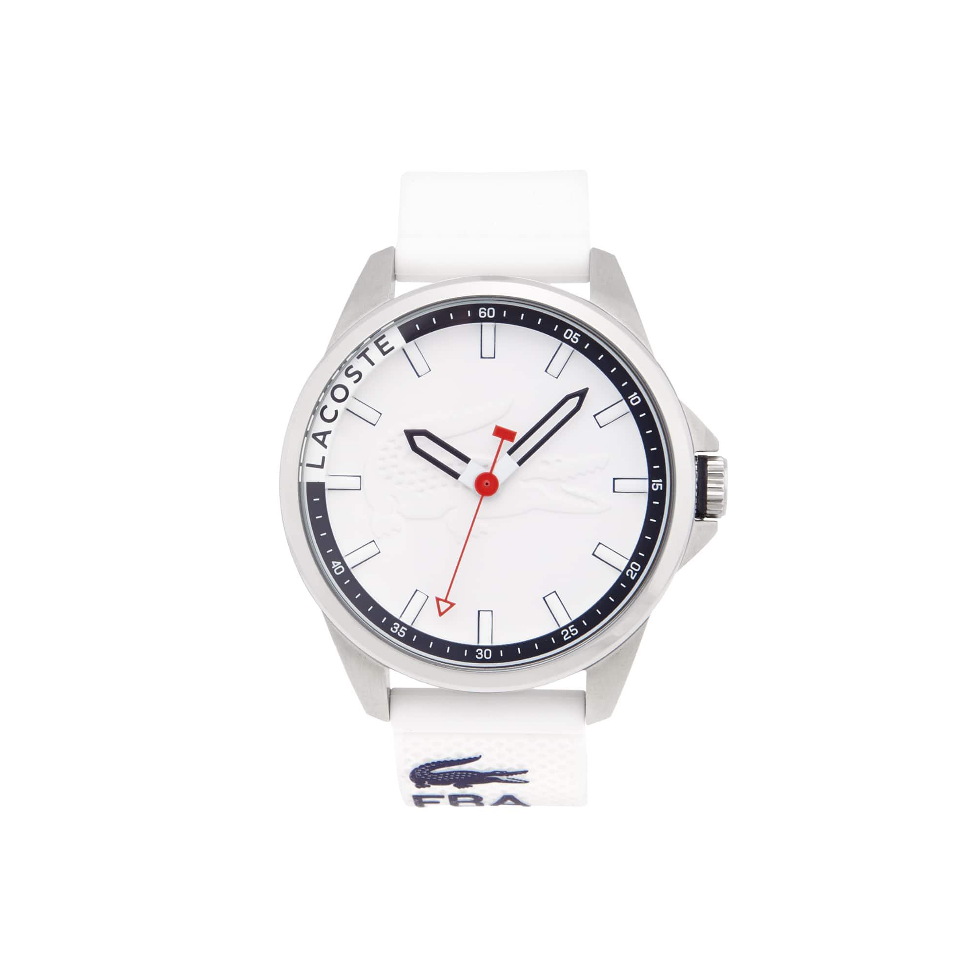 Relógio Capbreton Homem com Bracelete em Silicone Branco