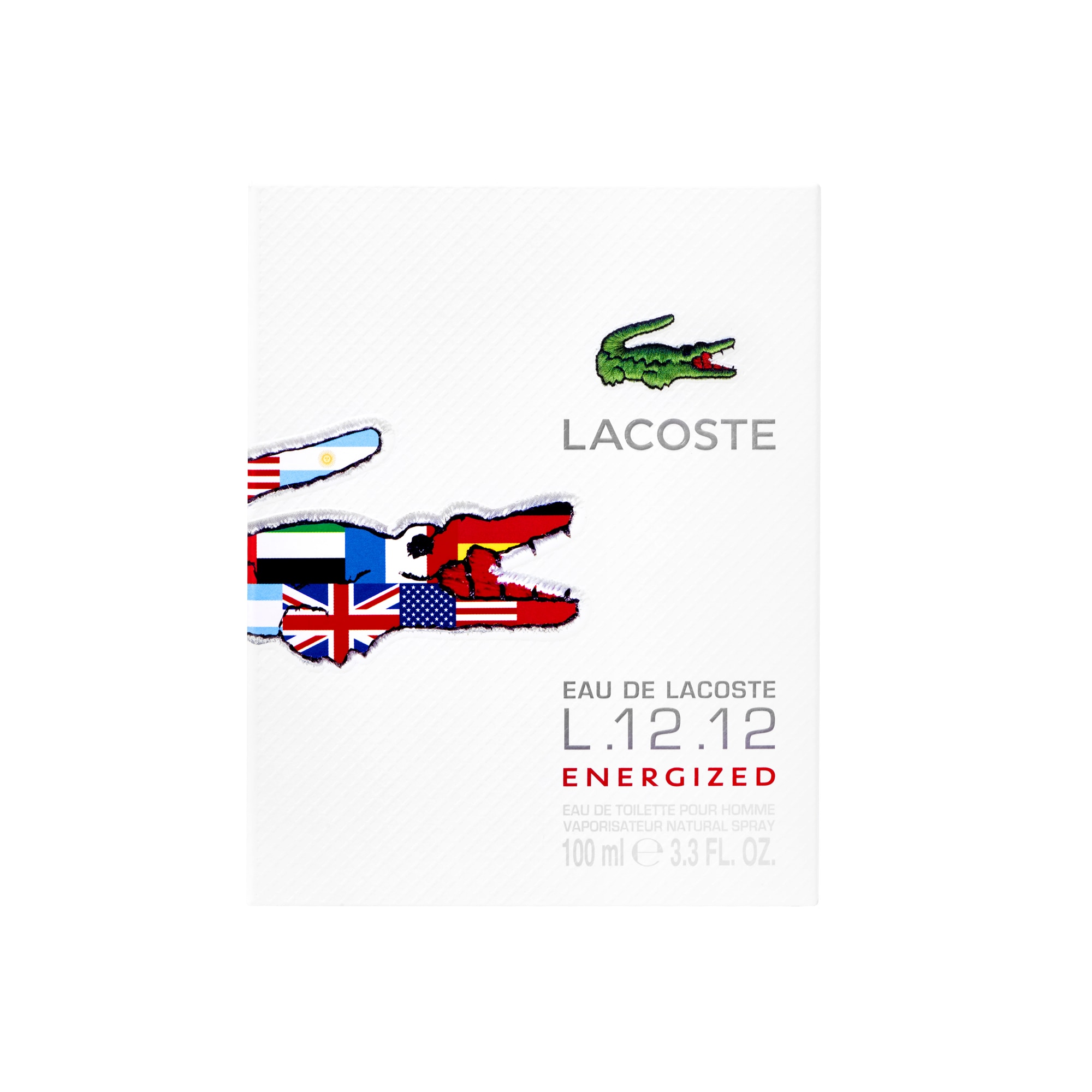 Eau de Lacoste L.12.12 ENERGIZED 100ML
