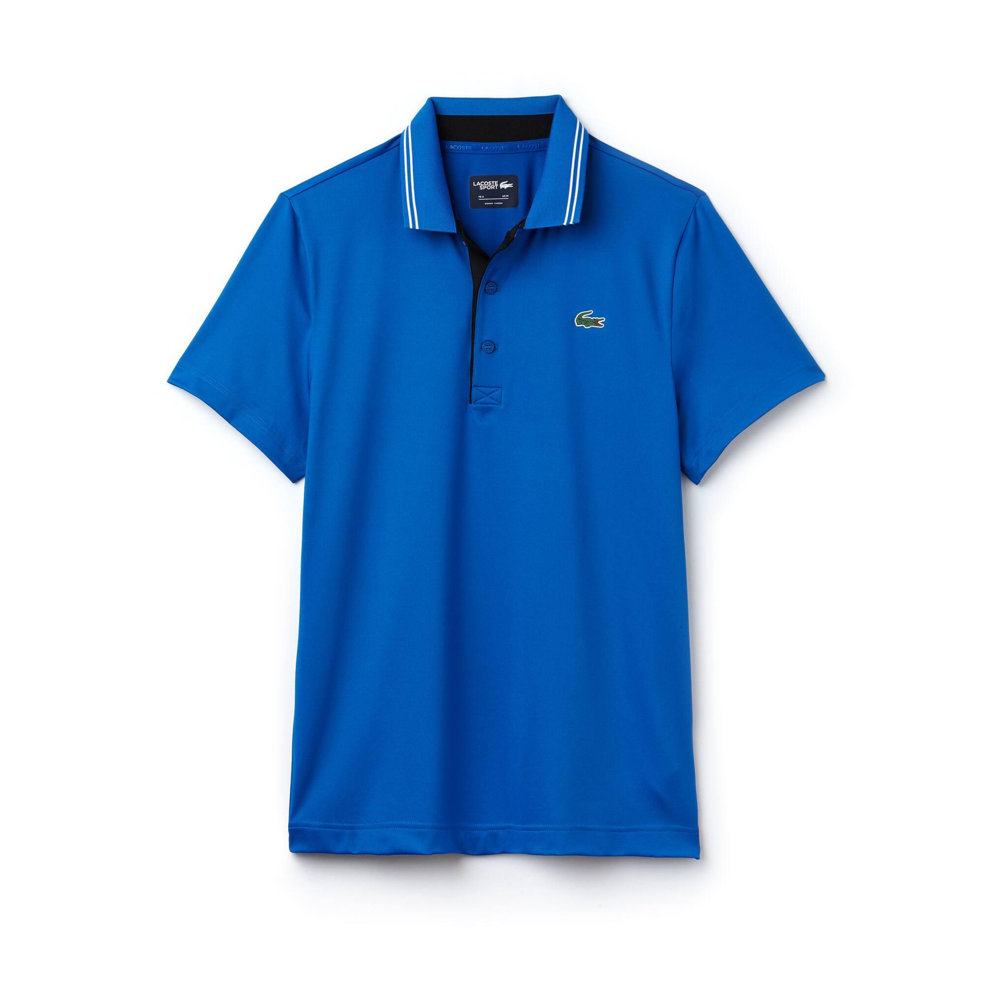 Polo Golf Lacoste SPORT em jersey stretch técnico com marcação