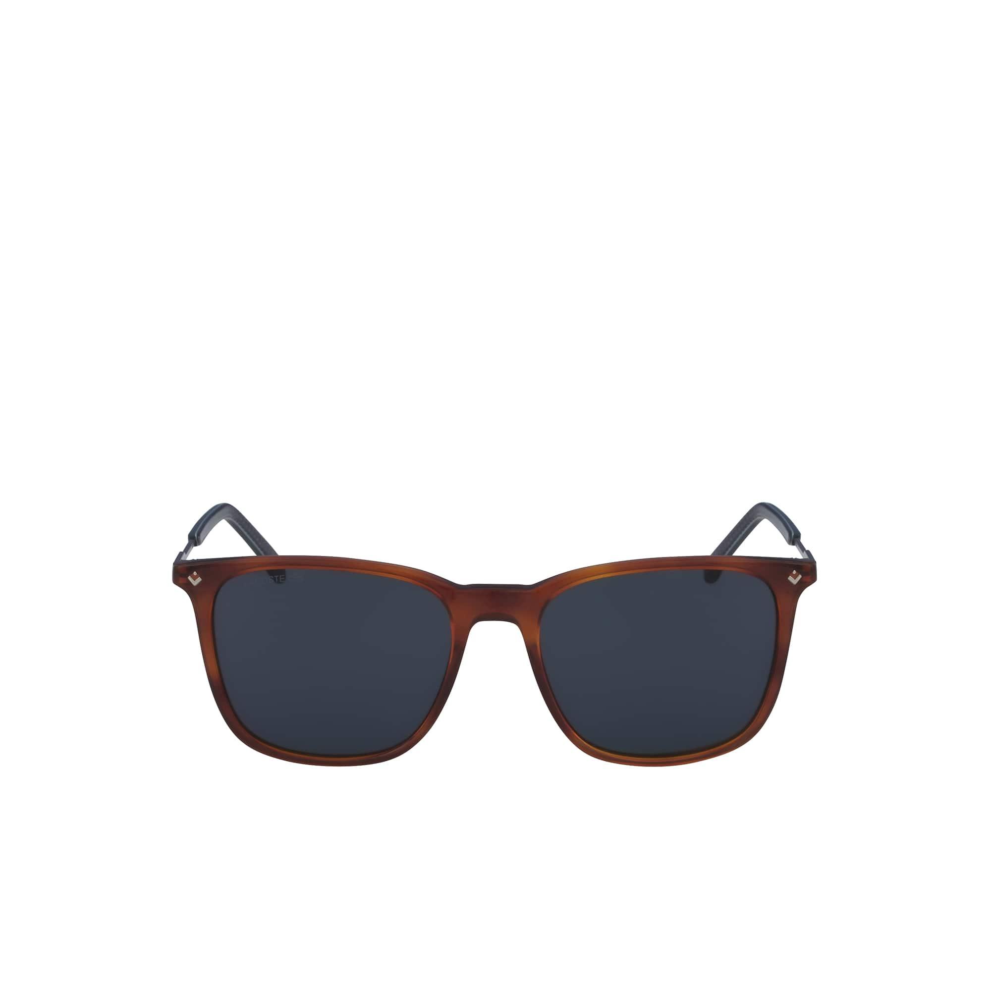 Óculos de sol de homem Petit Piqué com armação de acetato/metal