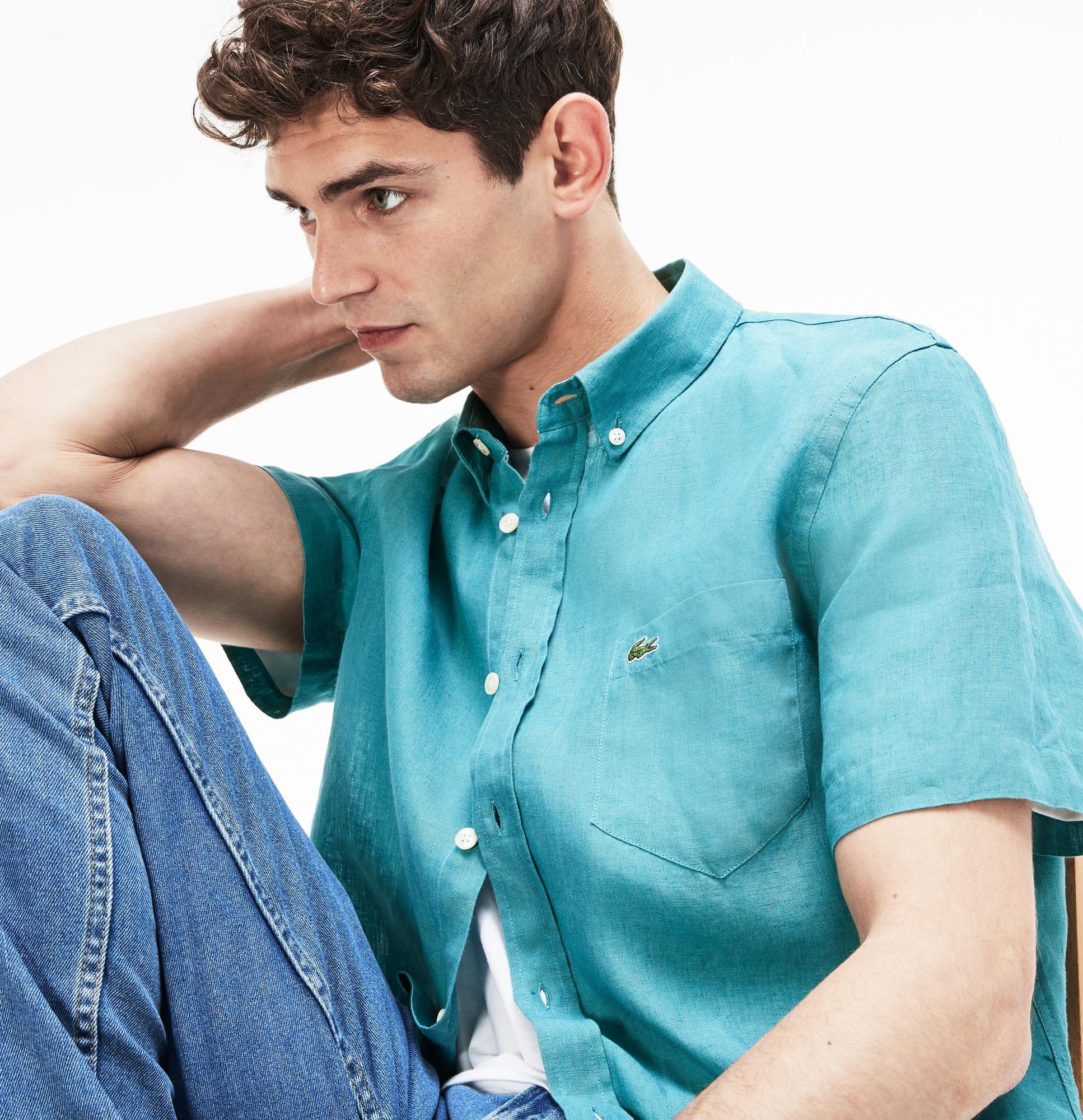 Roupa e acessórios de homem. Camisas. Luxury man brands