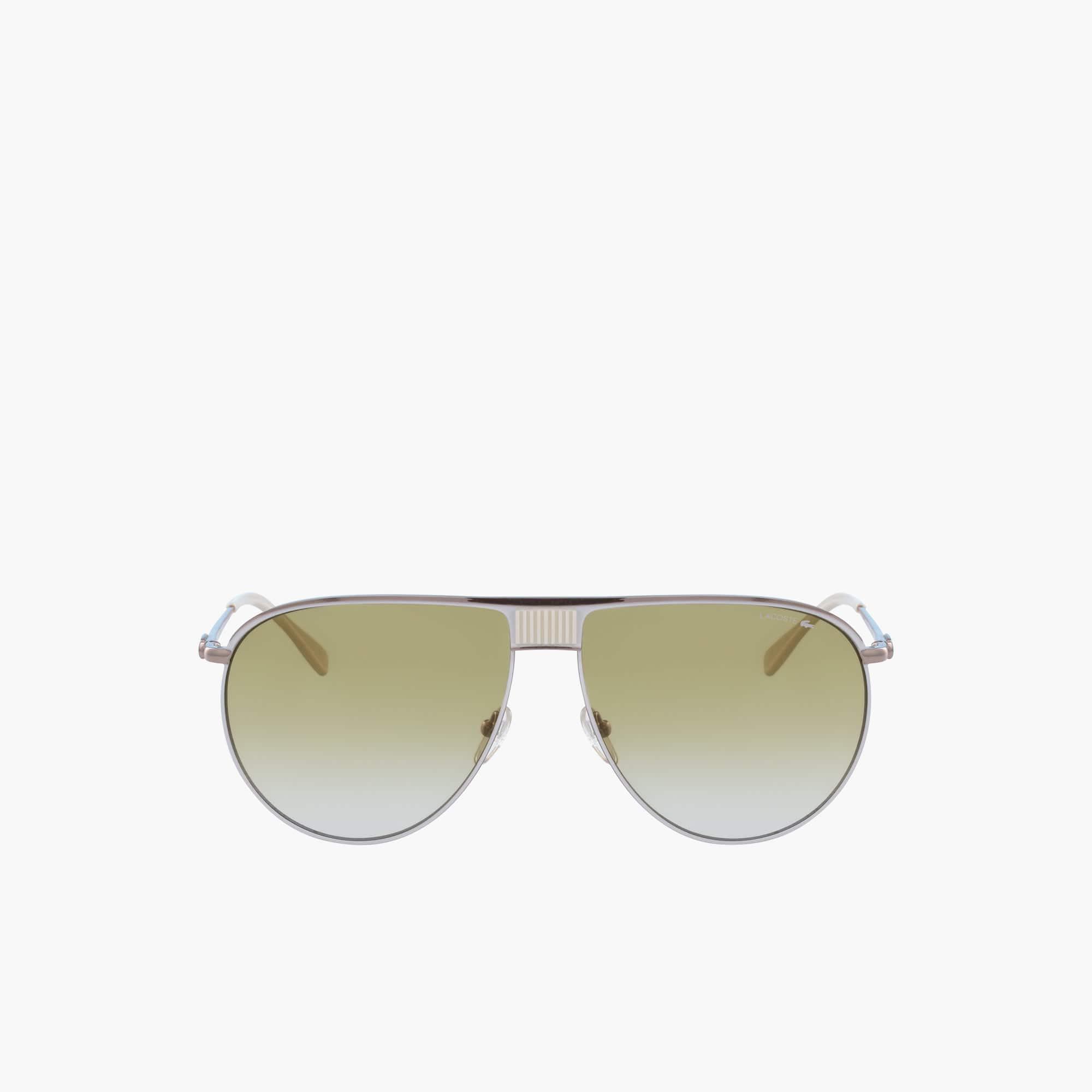 Óculos de sol Fashion Show unissexo com armação de metal