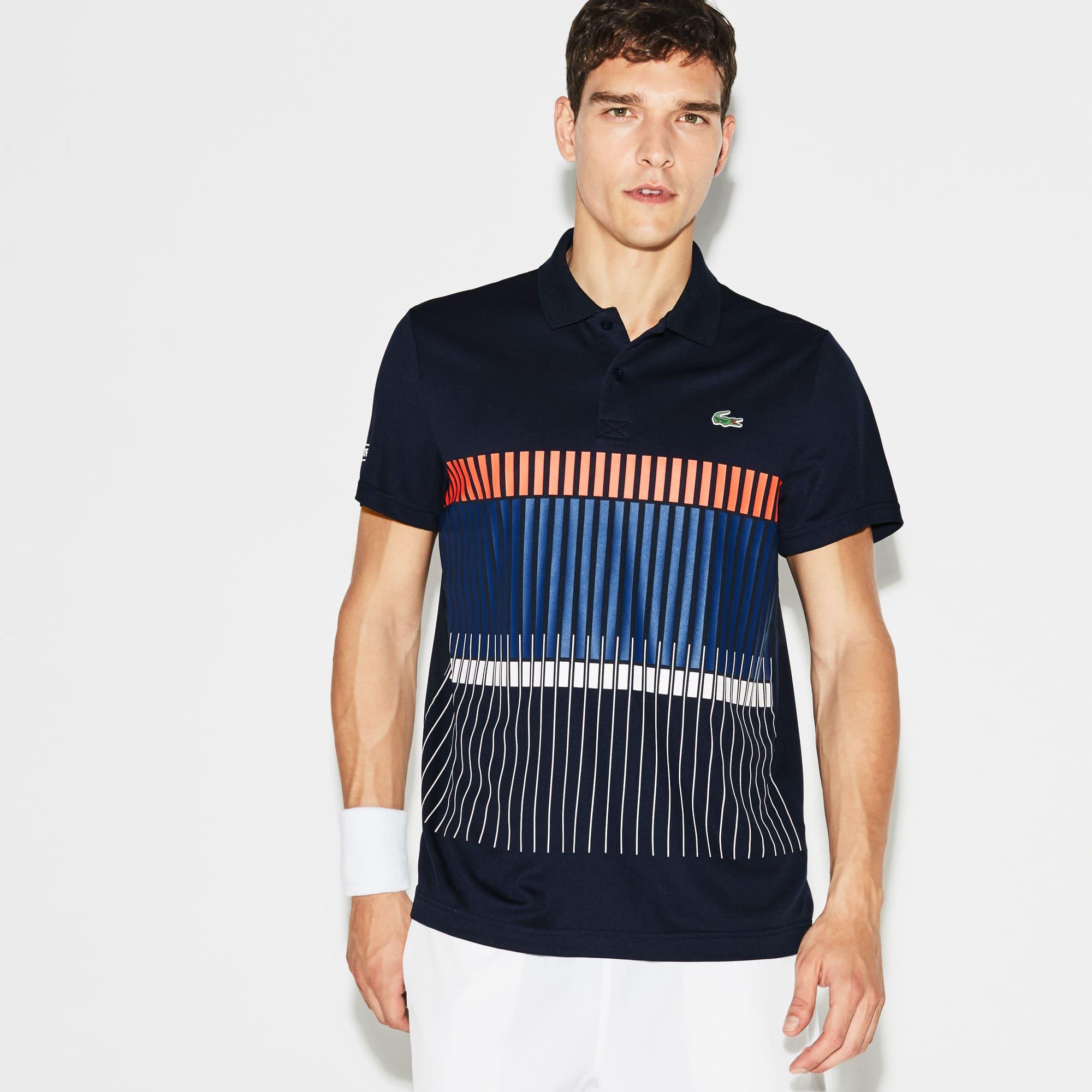 Pólo Lacoste da Coleção Novak Djokovic - Edição Exclusiva Clay