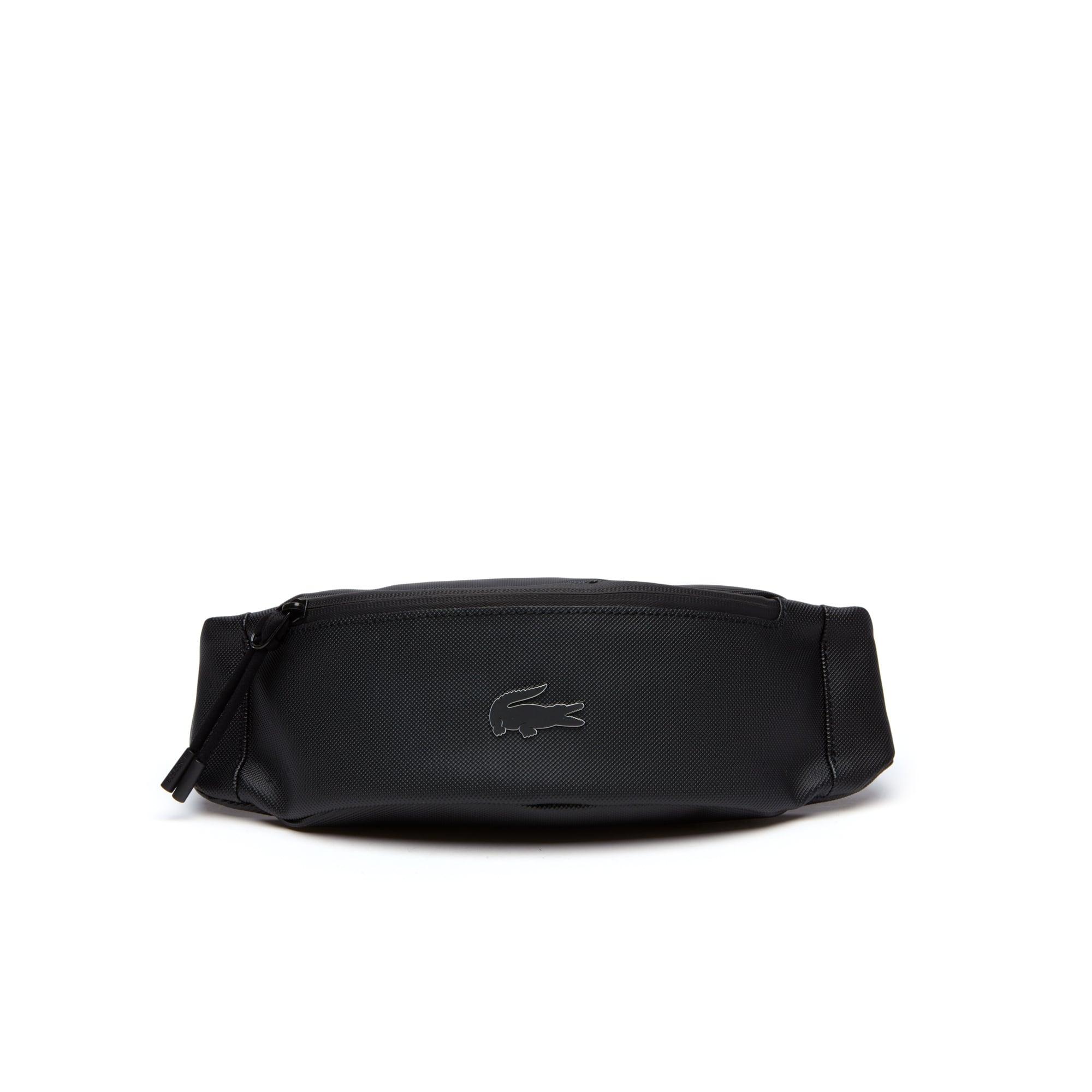 Bolsa de cintura com fecho L.12.12 Concept, monocromática em Petit Piqué