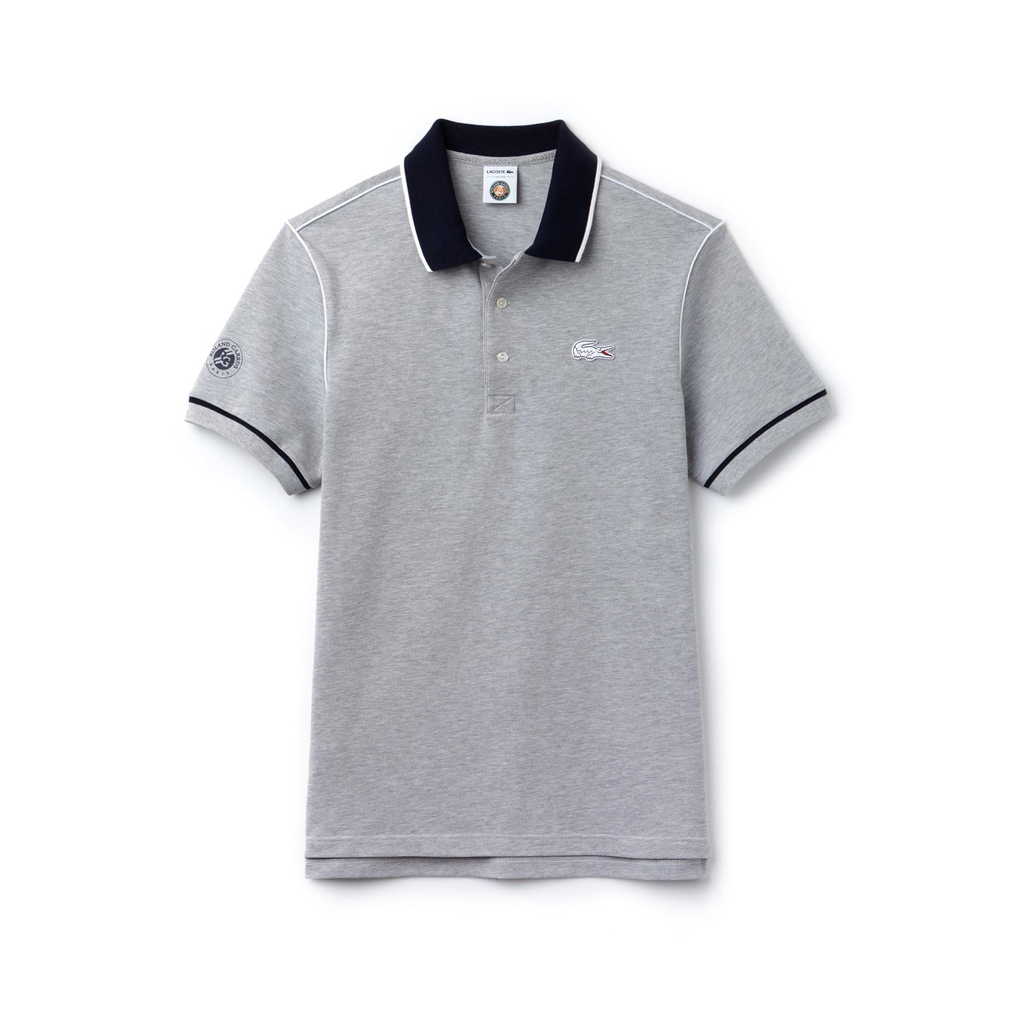 Polo Lacoste SPORT em piqué com debruado Edição Roland Garros