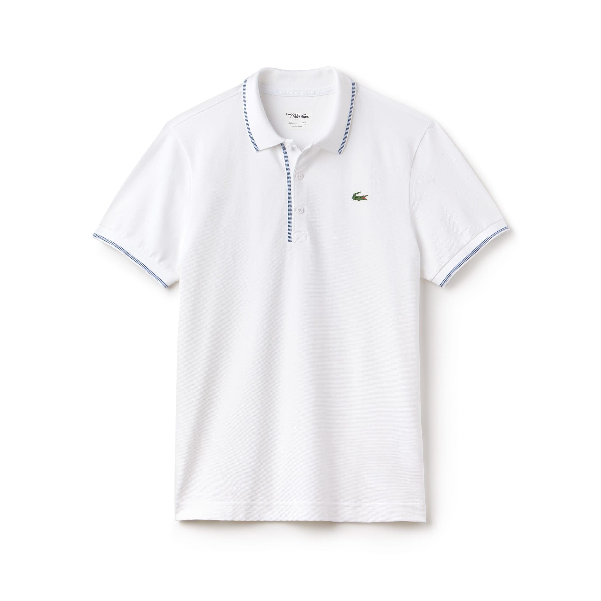 Polo Golf Lacoste SPORT em algodão superleve com debruados