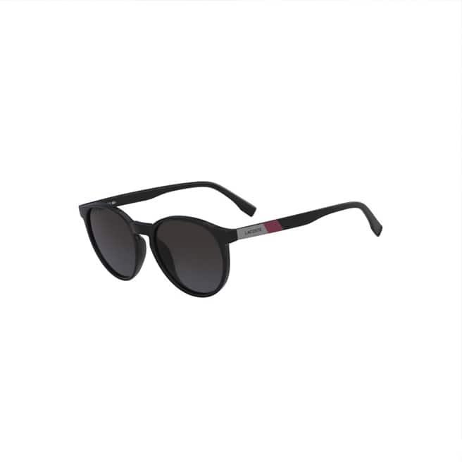 Óculos de sol unissexo Color Block com armação de plástico