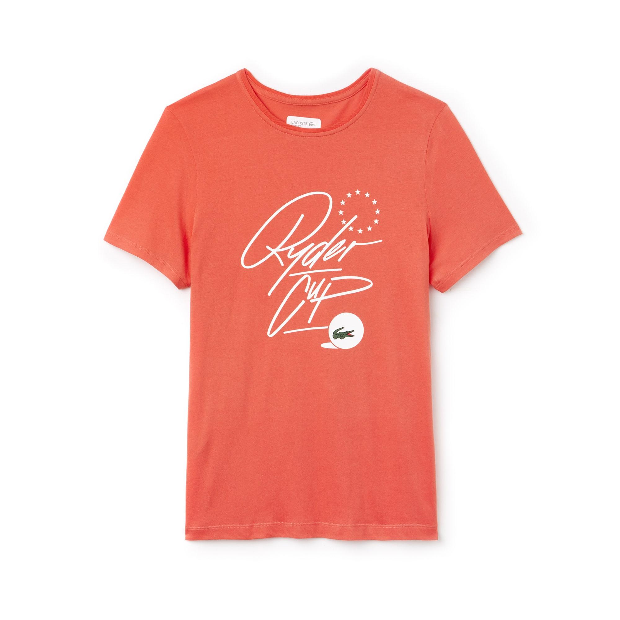 T-shirt Golf Lacoste SPORT em jersey Edição Ryder Cup