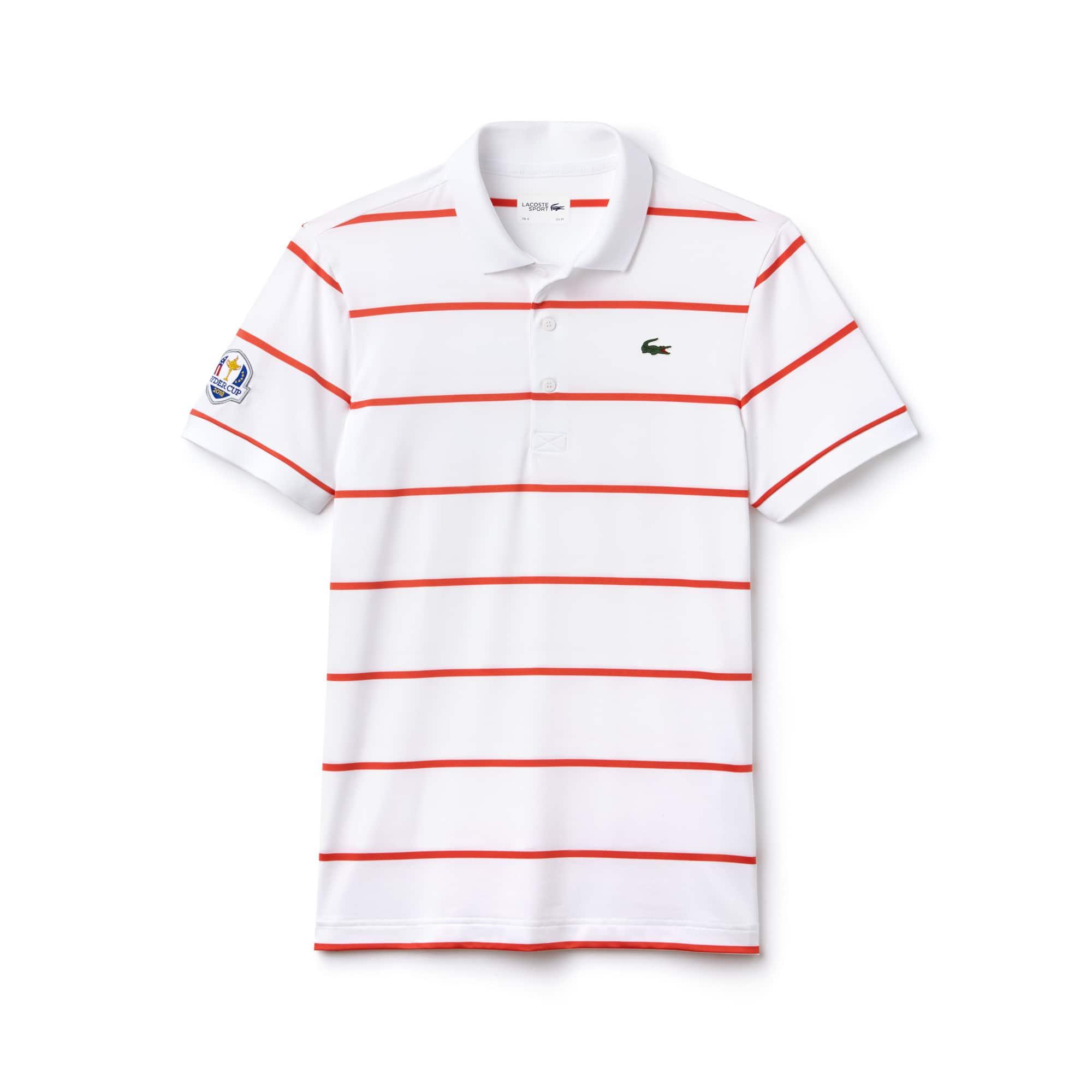Polo Golf Lacoste SPORT em jersey stretch às riscas Edição Ryder Cup