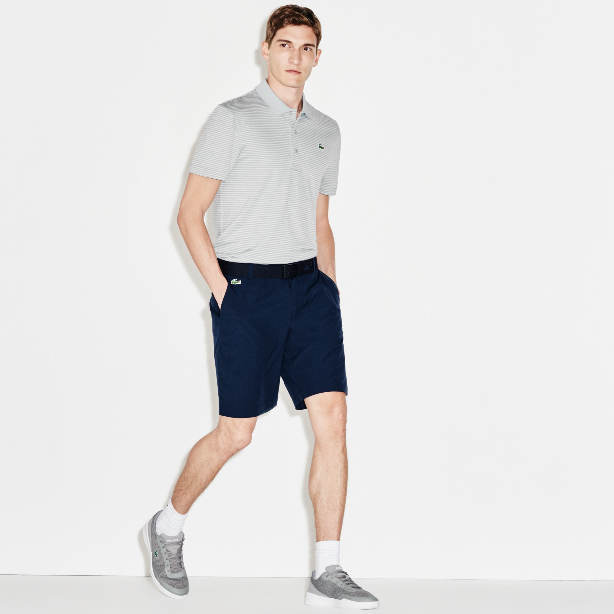 Bermudas Golf Lacoste SPORT stretch e unicolor