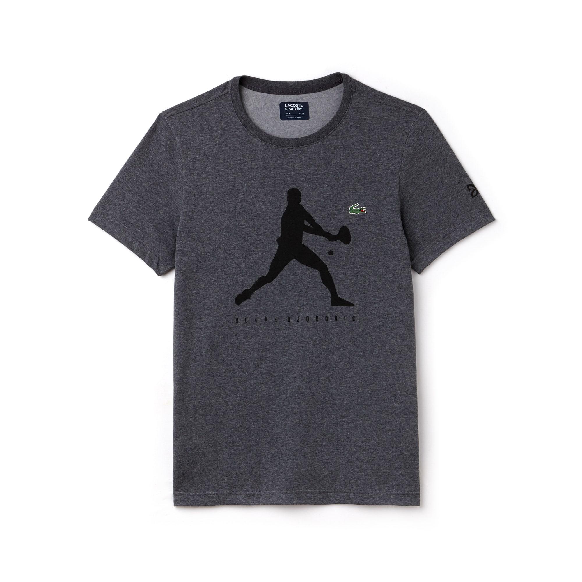 T-shirt Com Decote Redondo Em Jersey Unicolor Com Impressão - Coleção Support With Style