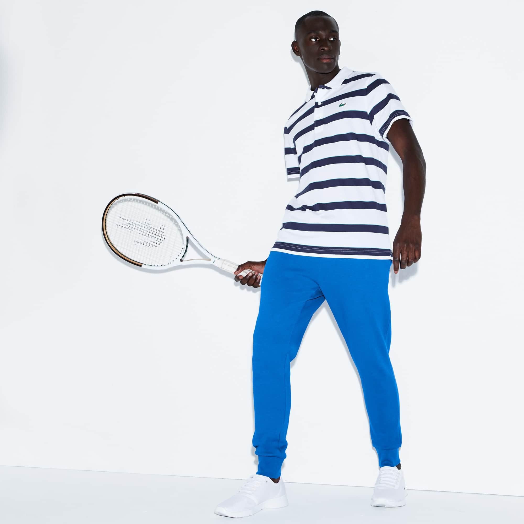 Calças de fato de treino Tennis Lacoste SPORT em moletão de algodão unicolor