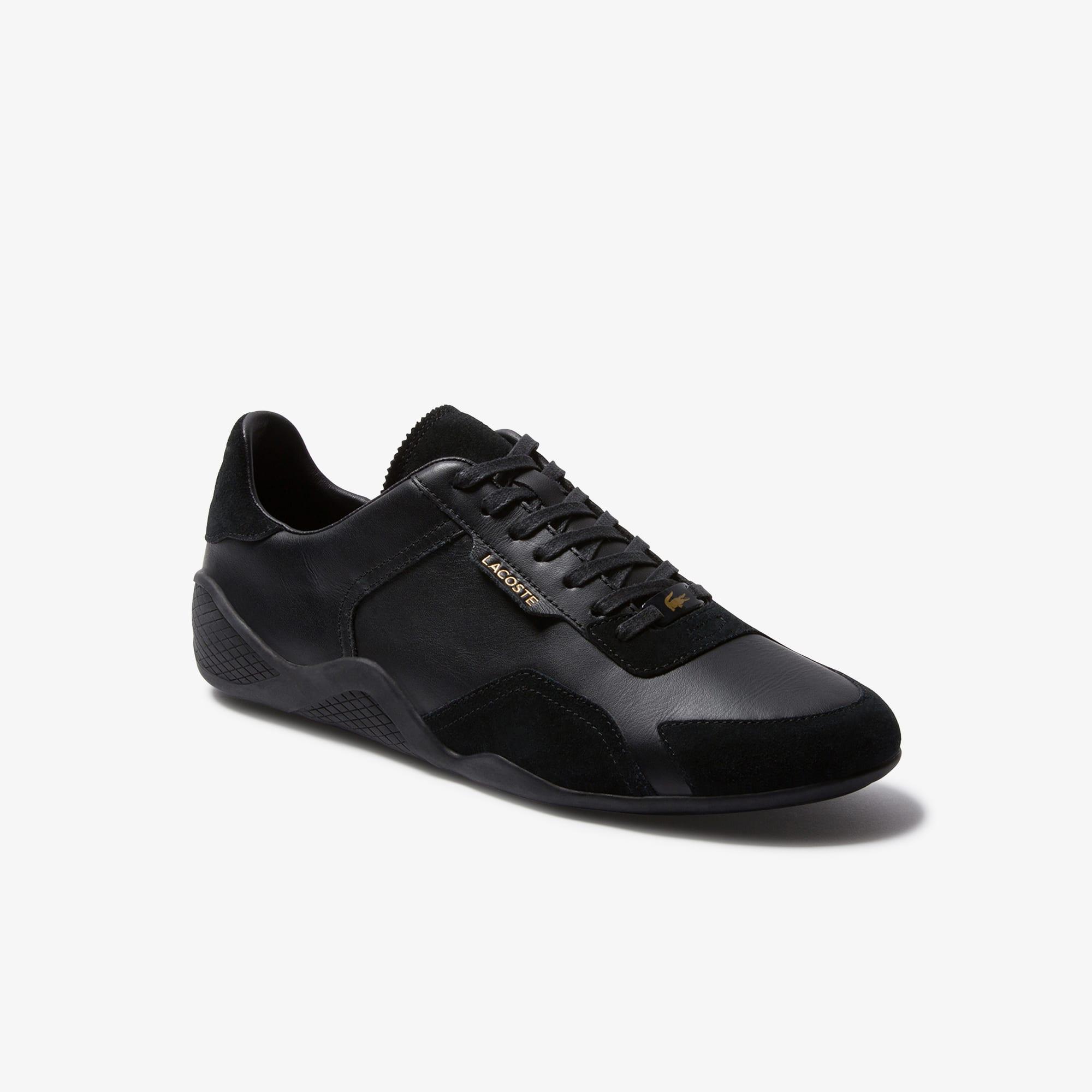 حذاء رياضي خفيف للرجال من جلد الغزال والشمواه
