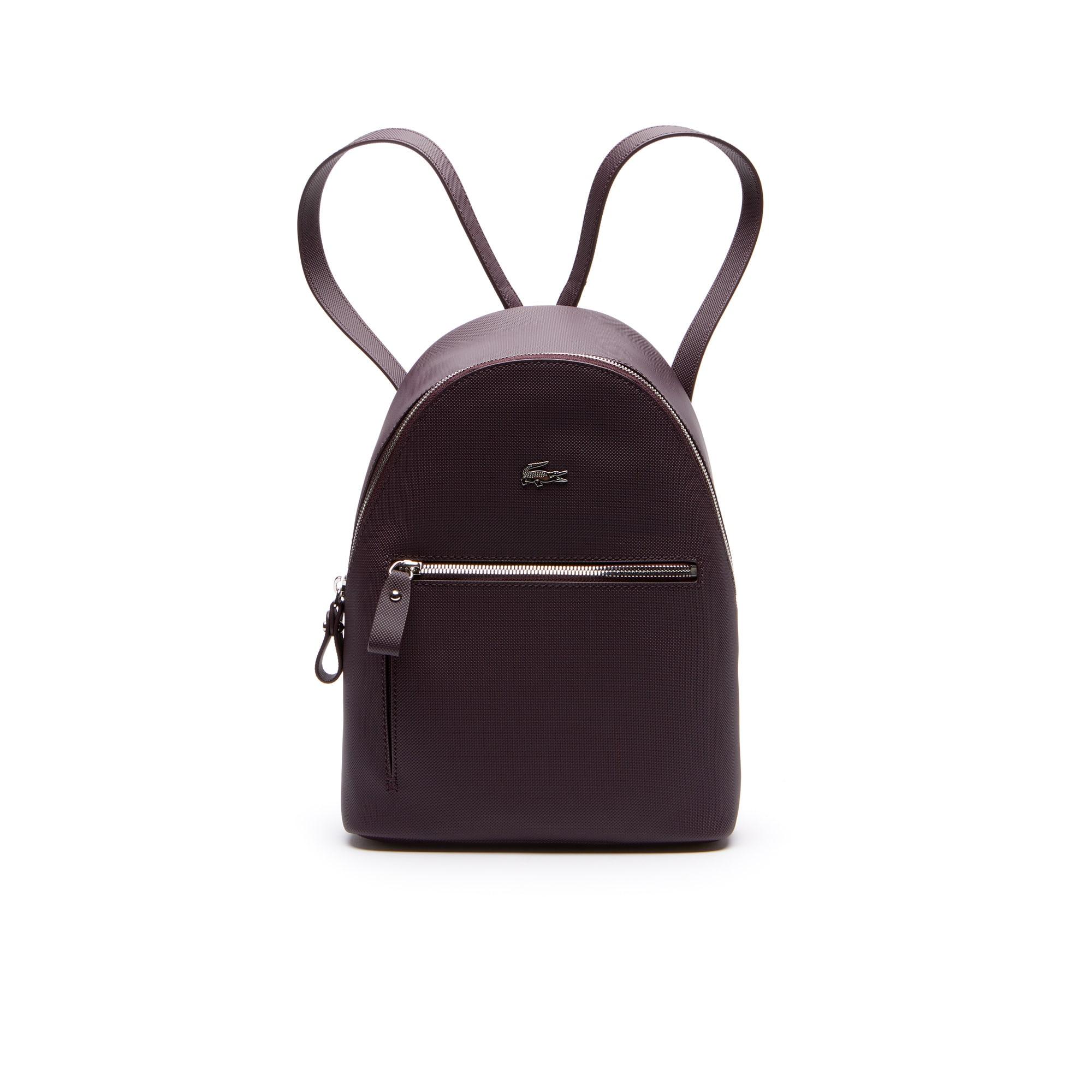 b53c42a14b919 حقيبة ظهر مُصنَّعة من قماش الكنفا بأسلوب بيكيه من مجموعة Daily Classic  للسيدات