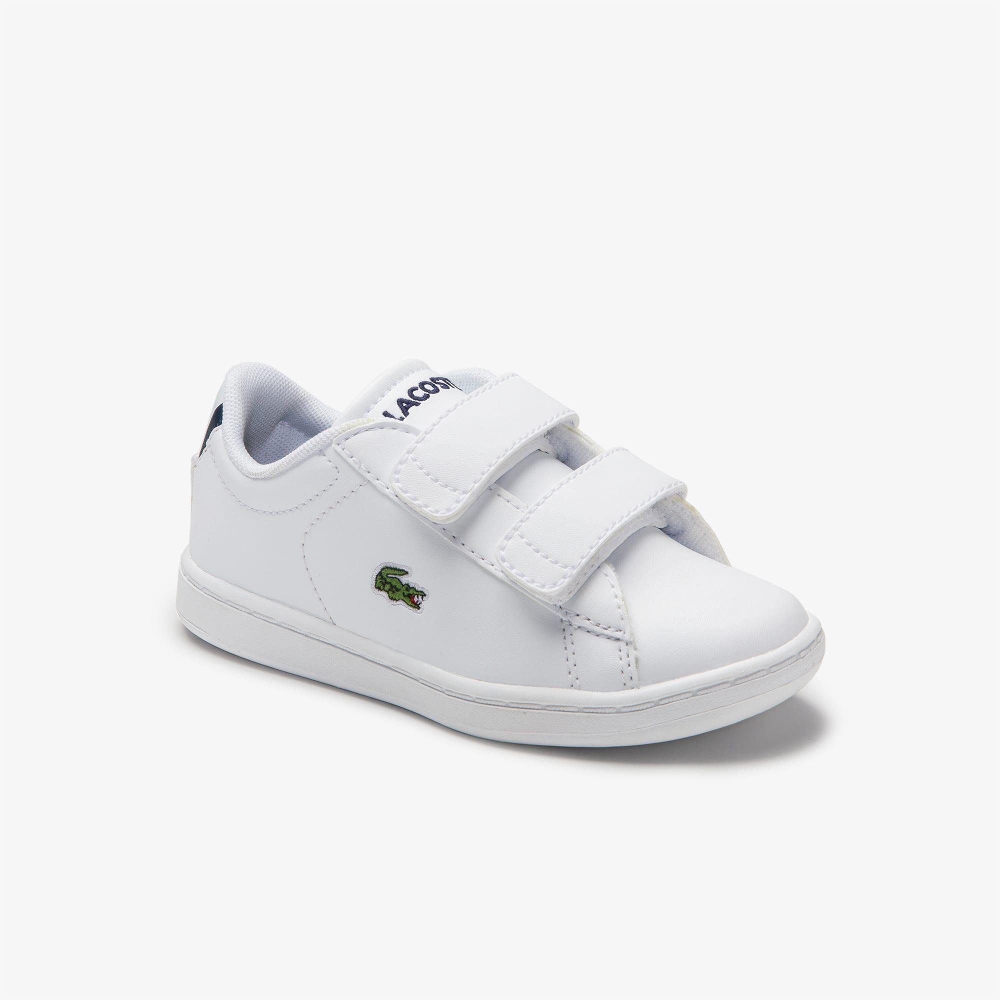 dfe5a3df6 حذاء رياضي مصنوع من مواد صناعية للأطفال الصغار من مجموعة Carnaby Evo BL |  LACOSTE