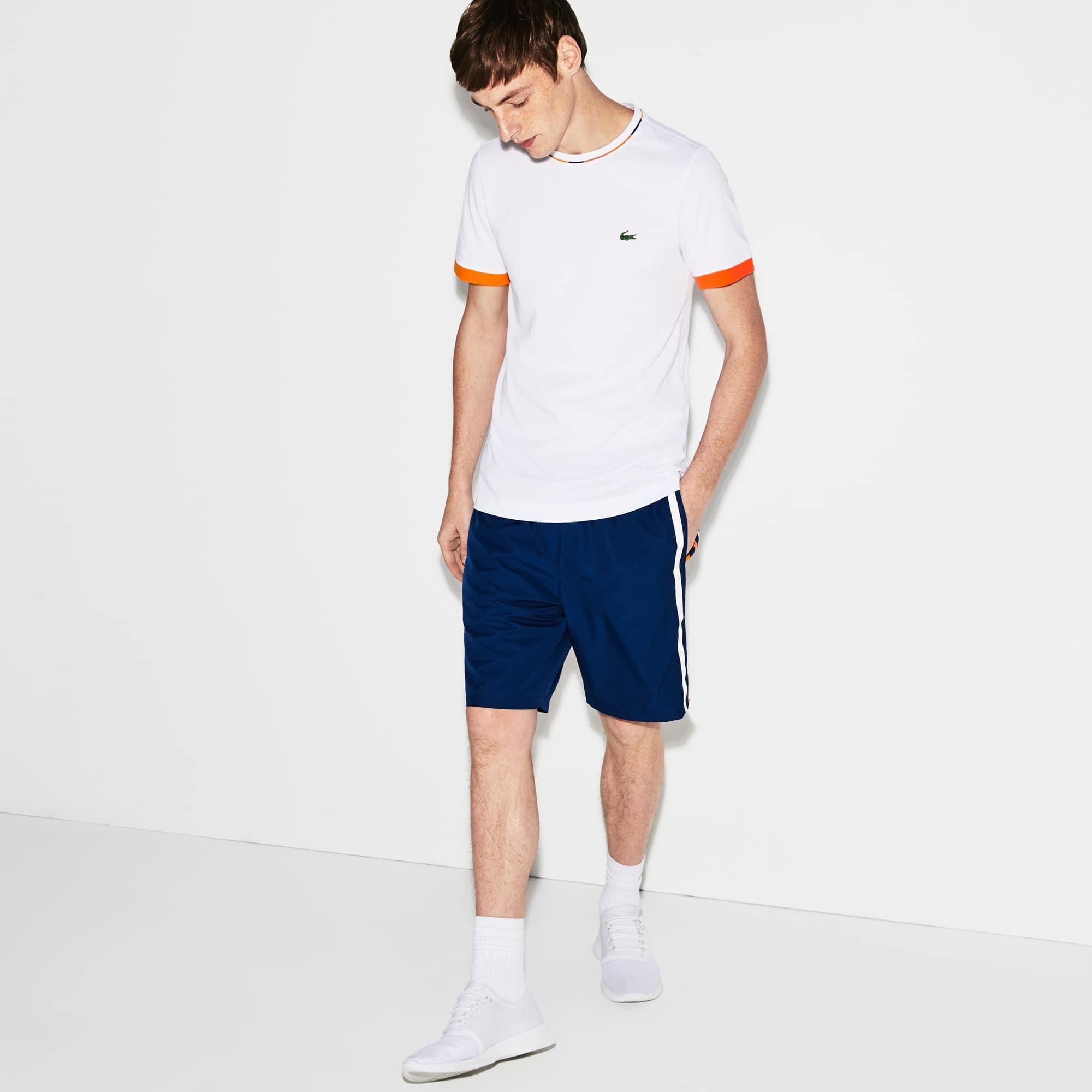 d66d18f8afab Men s Lacoste SPORT Colored Bands Taffeta Tennis Shorts. 410.00 SAR 410.00  SAR. Colour   MARINO WHITE-BUTTERCUP-AP