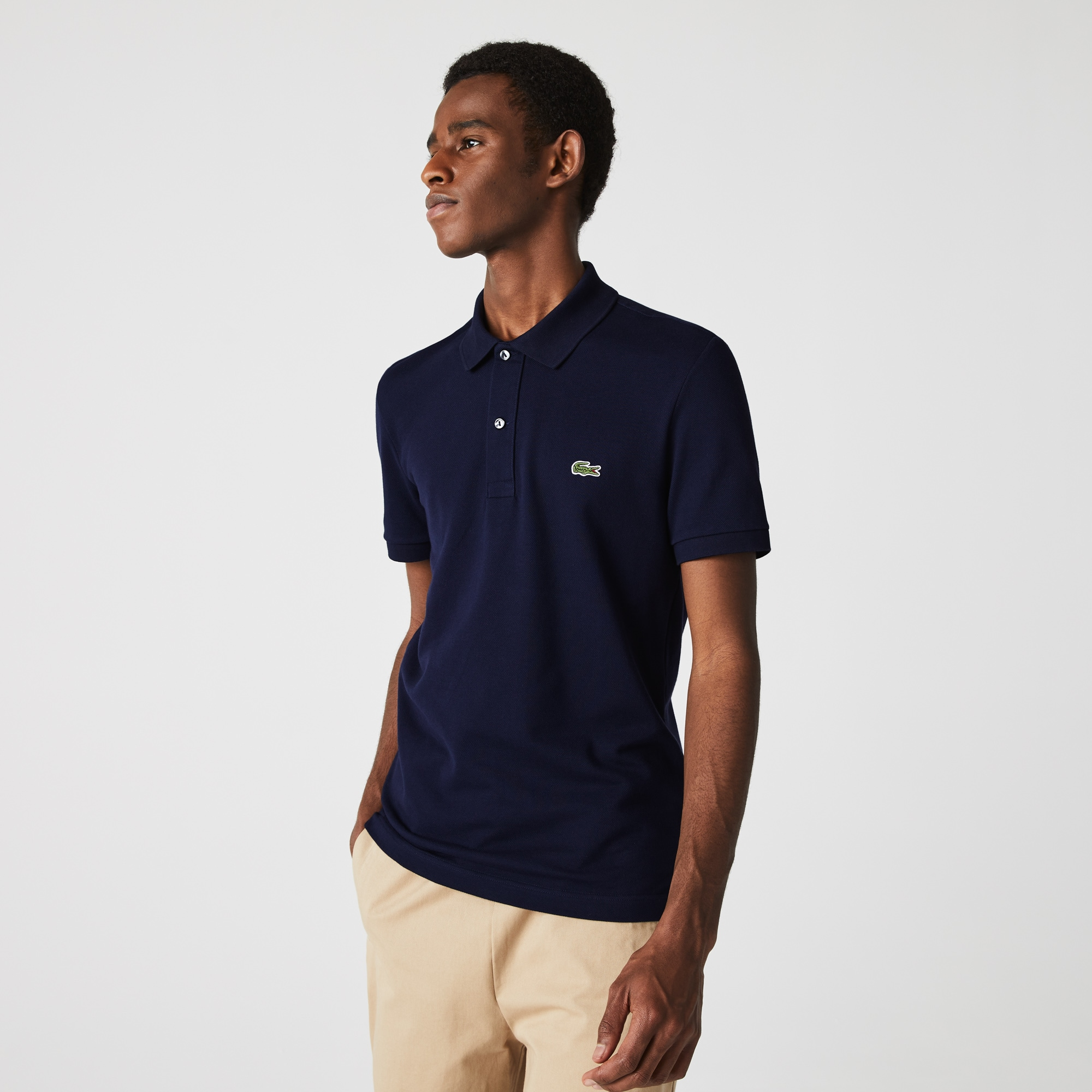 5ce66be4a6 Men's Slim fit Lacoste Polo Shirt in petit piqué | LACOSTE