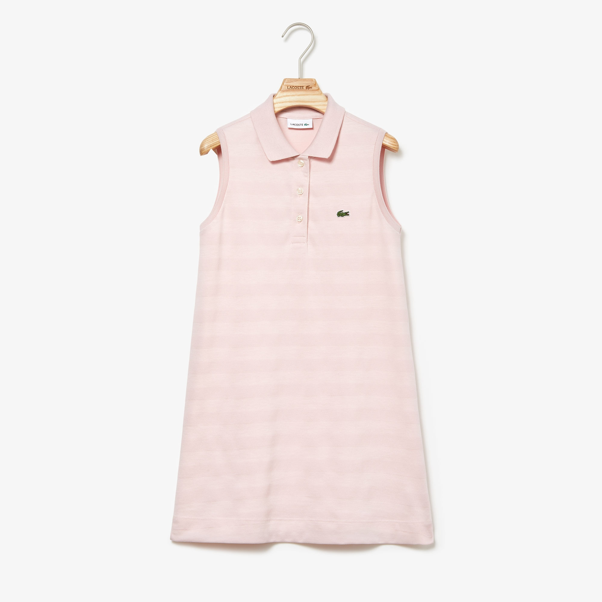 e228e2d5 Girls' Petit Piqué Polo Dress | LACOSTE