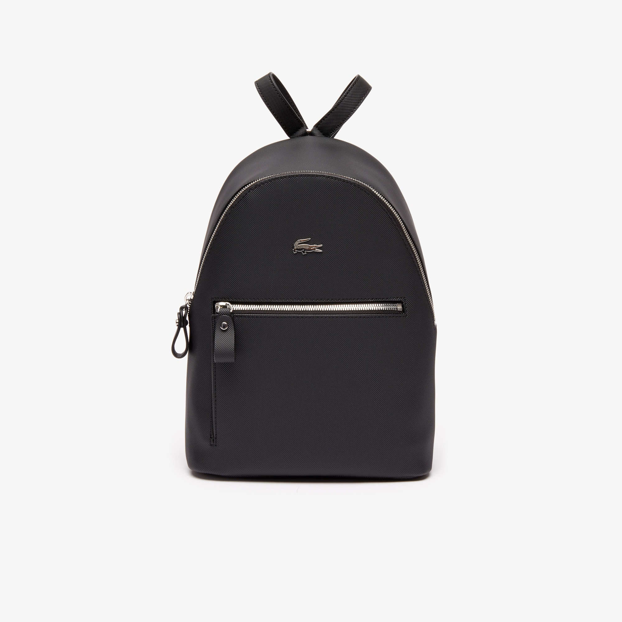 8b1b6a6f6a Women's Daily Classic Coated Piqué Canvas Backpack | LACOSTE