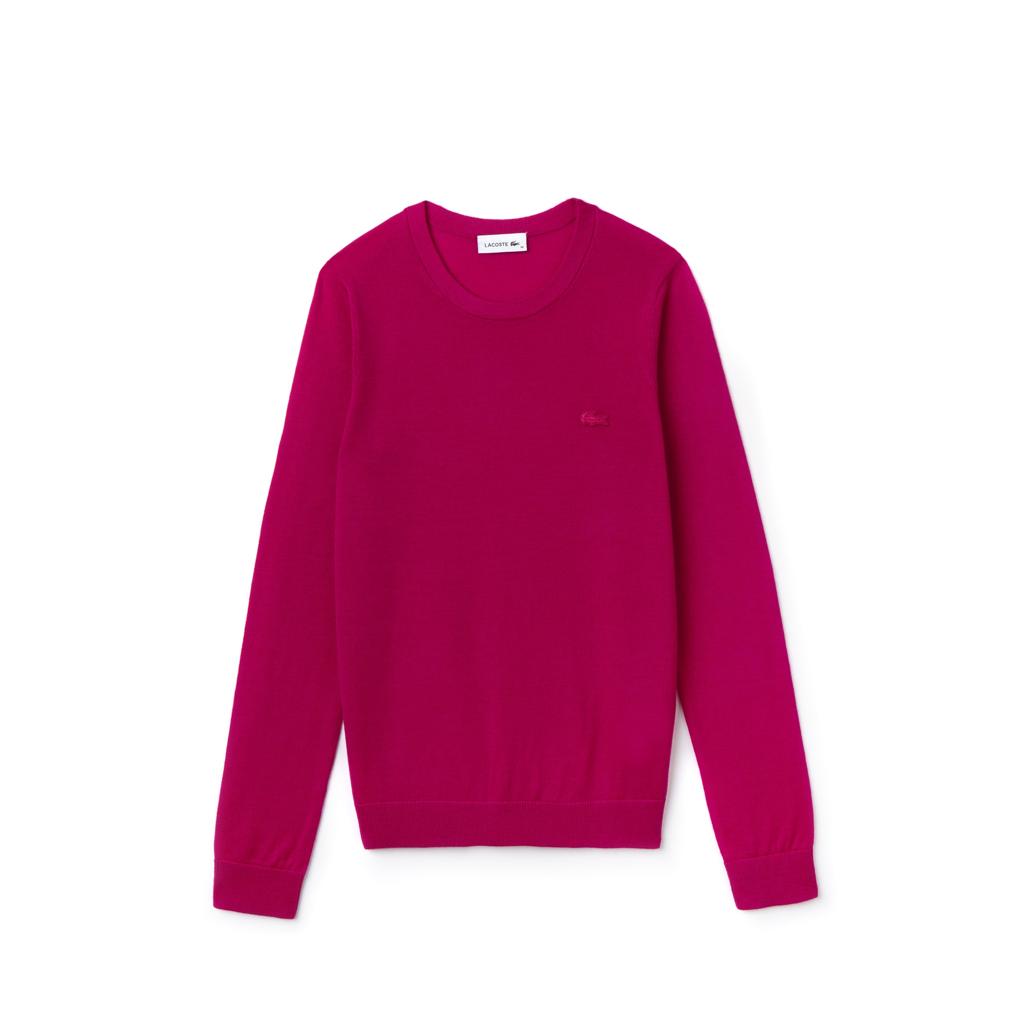c377e0cc Women's Crew Neck Wool Jersey Sweater