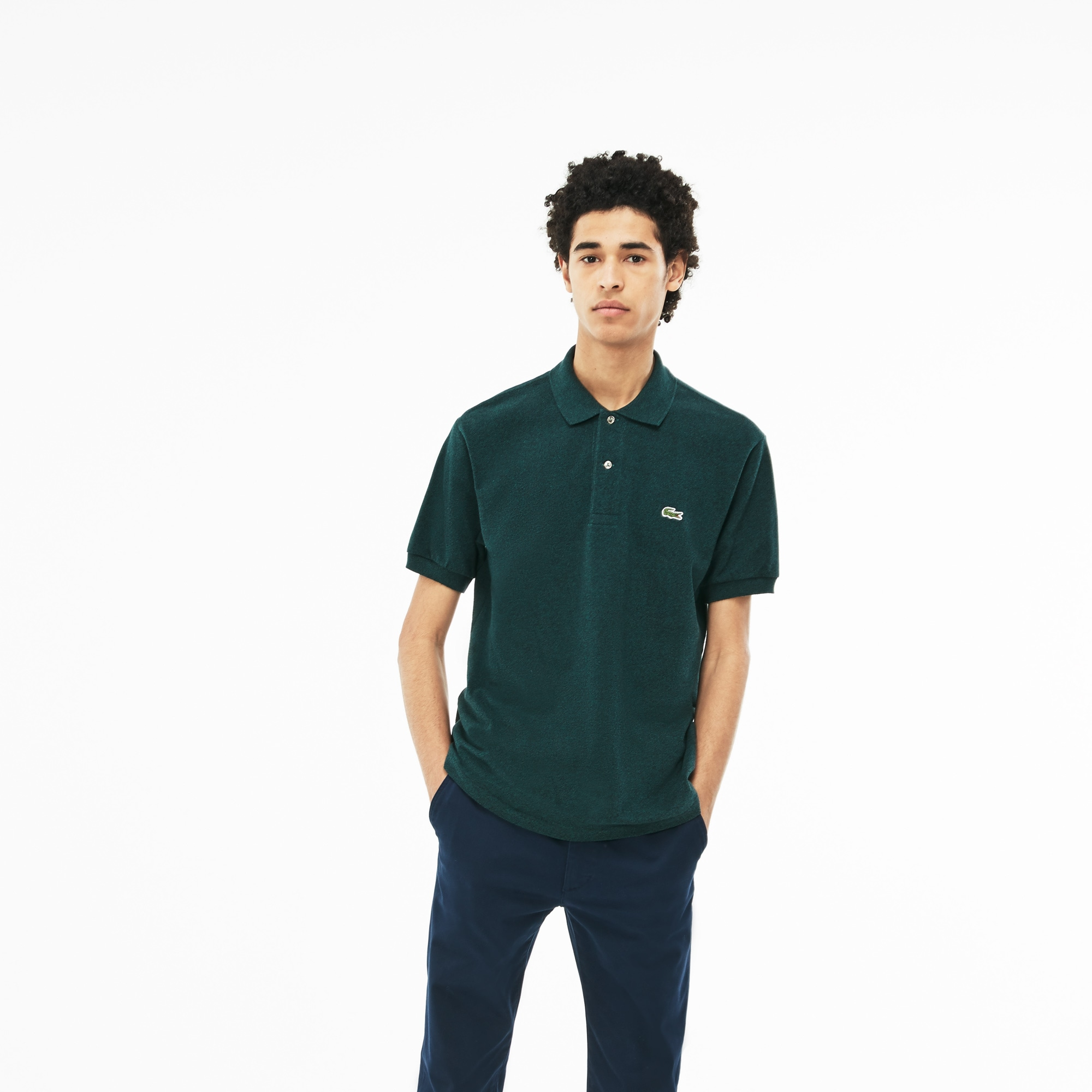 6d46840f0 Marl Lacoste L.12.12 Polo Shirt