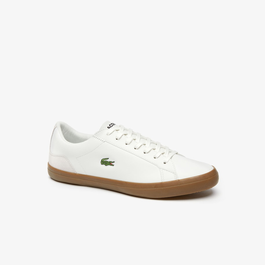 Men's Lerond Nappa Leather and Suede Trainers