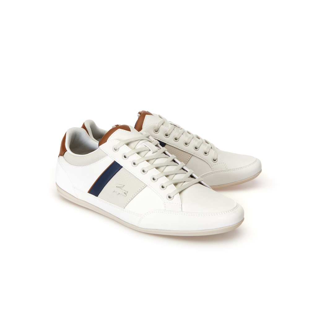 4a71cdafb1757 Men s Chaymon Nappa Leather and Suede Trainers