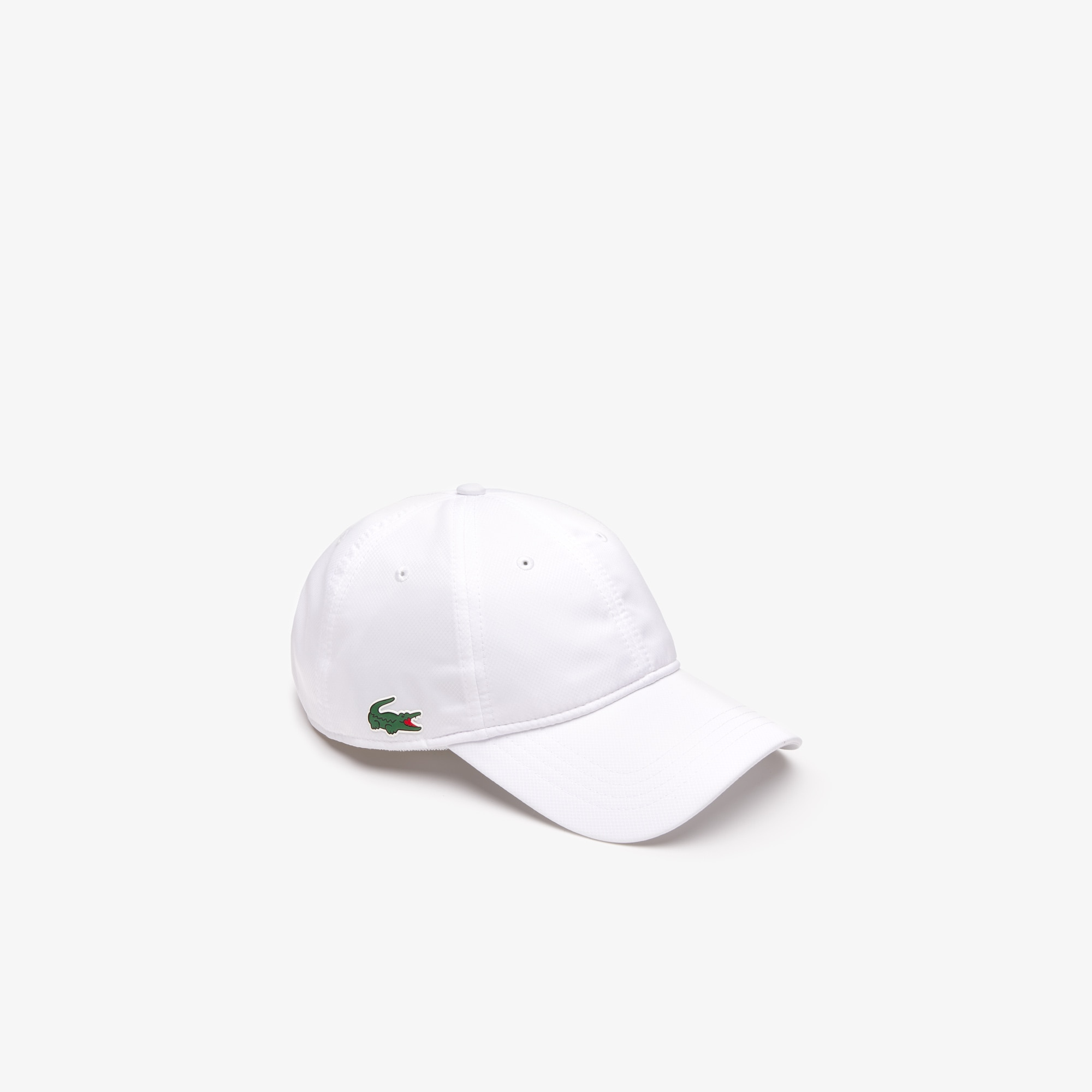 a98330ec58b8a Men s Lacoste SPORT cap in solid diamond weave taffeta