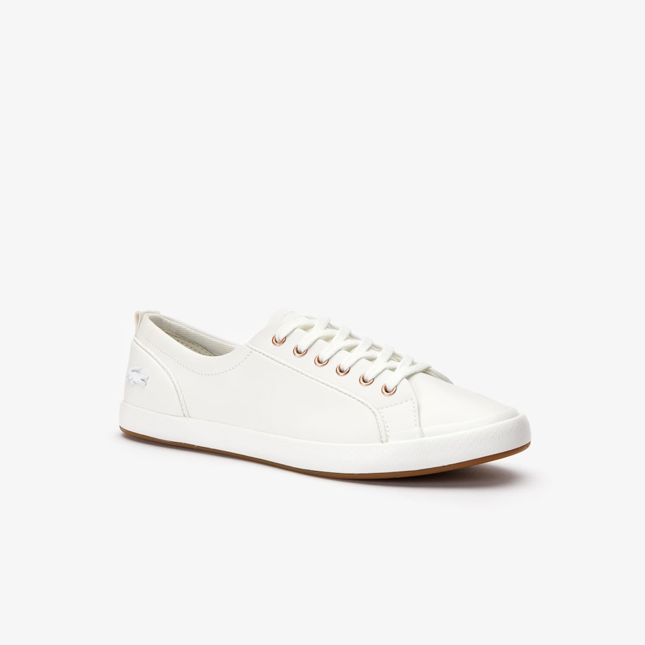 Women's Lancelle Six-eyelet Synthetic Trainers