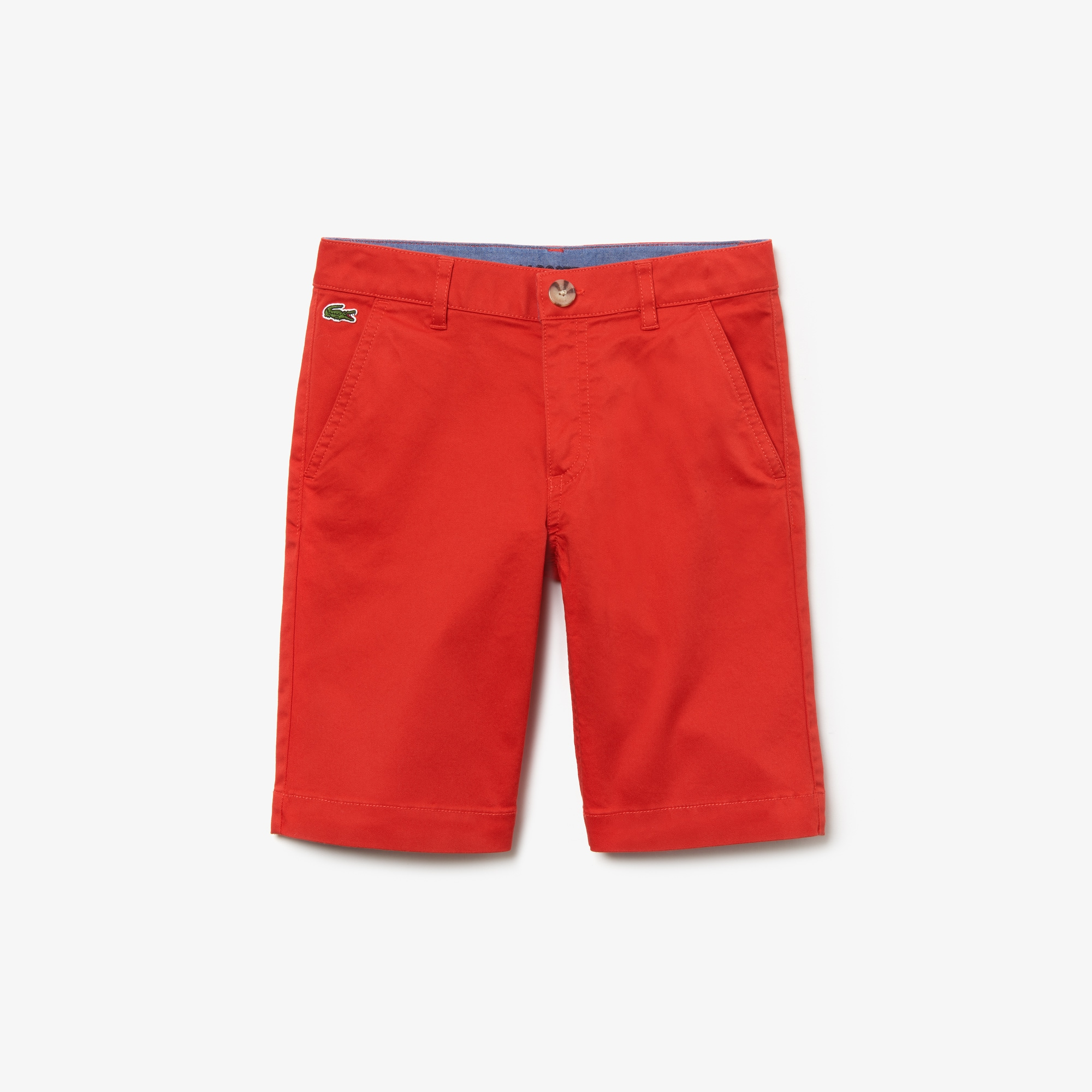 Kids' Cotton gabardine Bermuda shorts